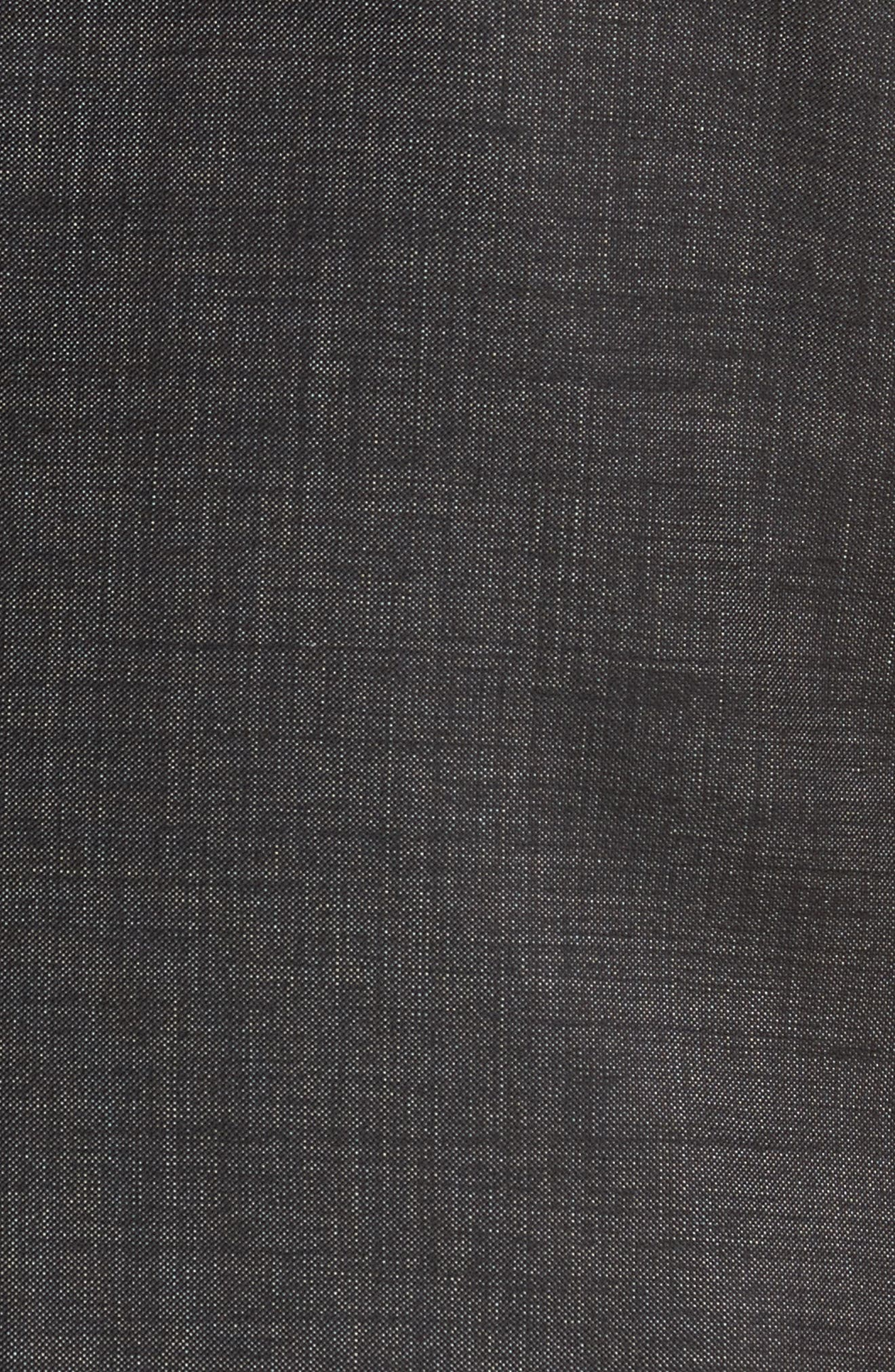 Novan/Ben Trim Fit Solid Wool Suit,                             Alternate thumbnail 7, color,                             001