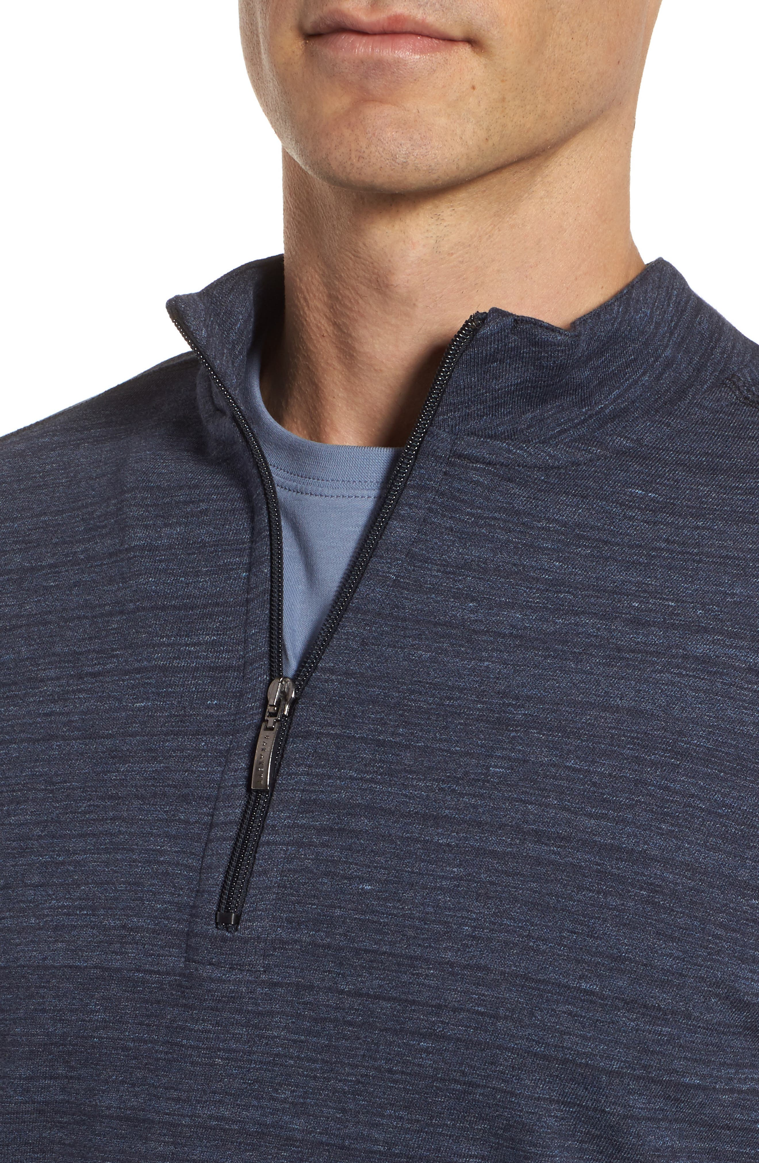 Marcel Quarter Zip Pullover,                             Alternate thumbnail 4, color,                             525