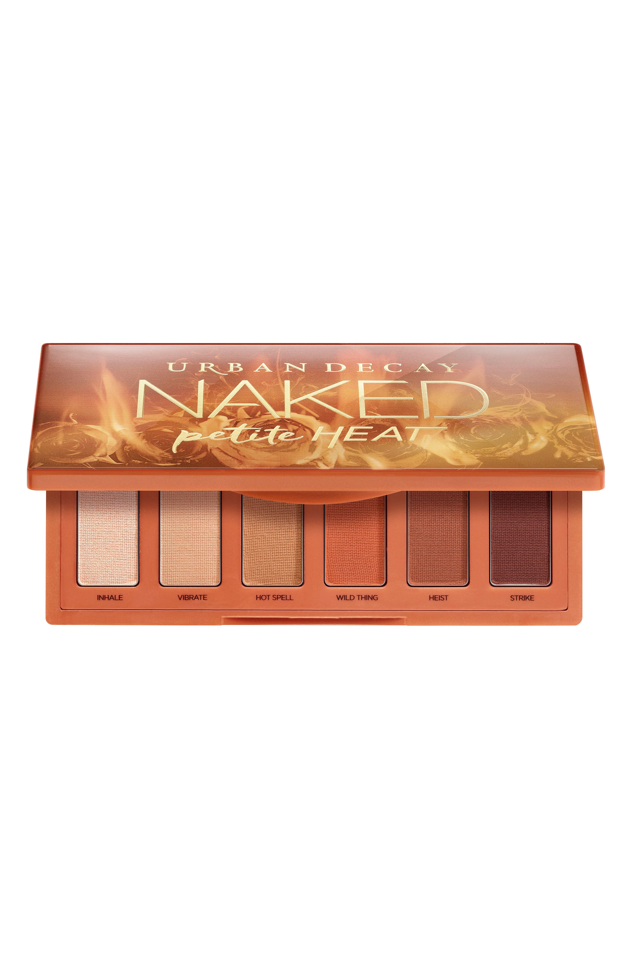 URBAN DECAY,                             Naked Petite Heat Eyeshadow Palette,                             Main thumbnail 1, color,                             NO COLOR