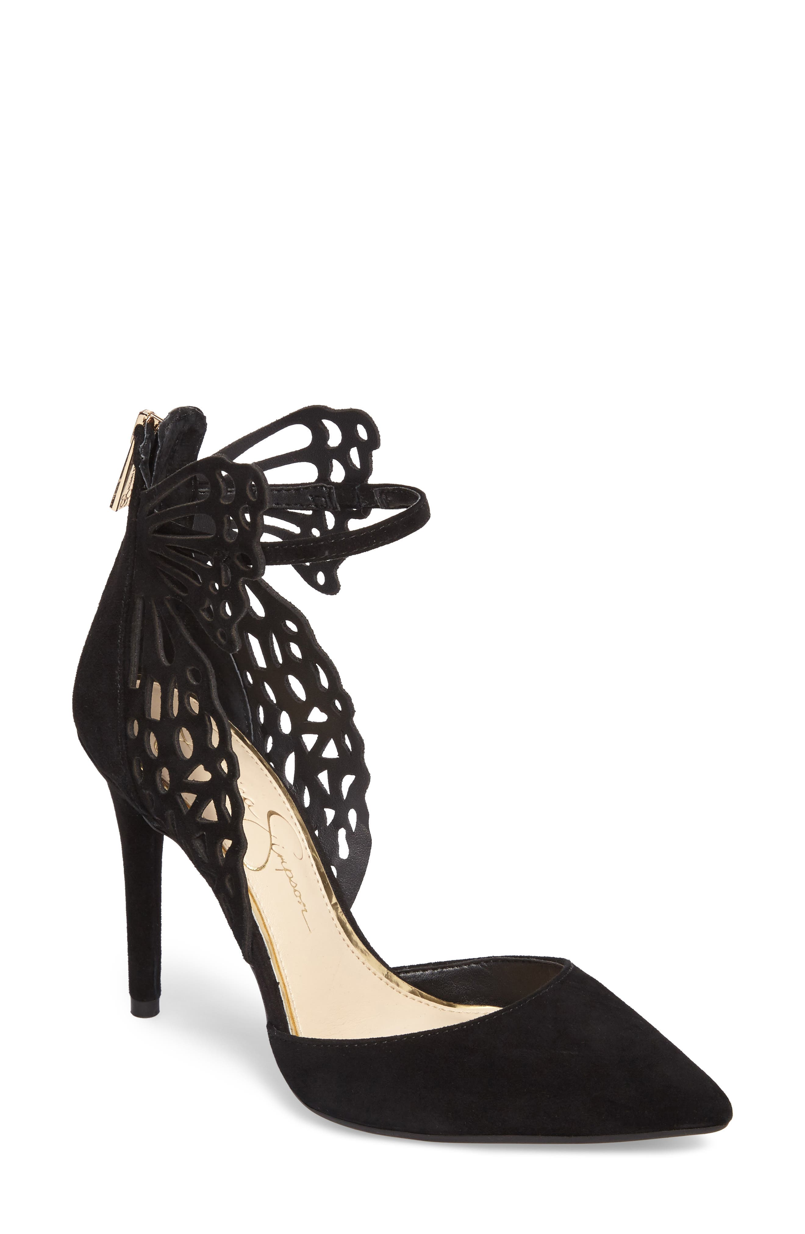 Leasia Butterfly Pump,                             Main thumbnail 1, color,                             001