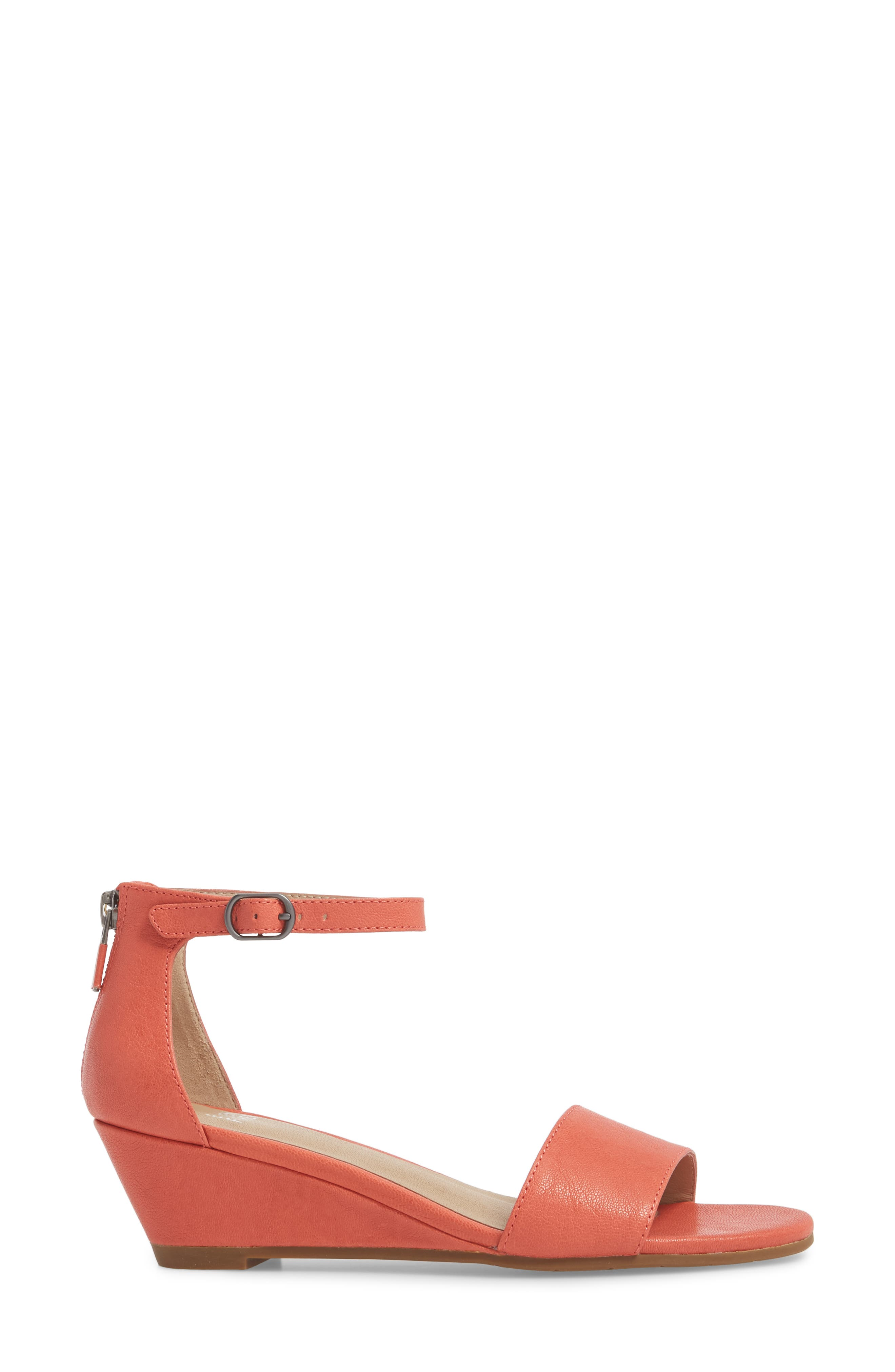 Mara Ankle Strap Wedge Sandal,                             Alternate thumbnail 12, color,