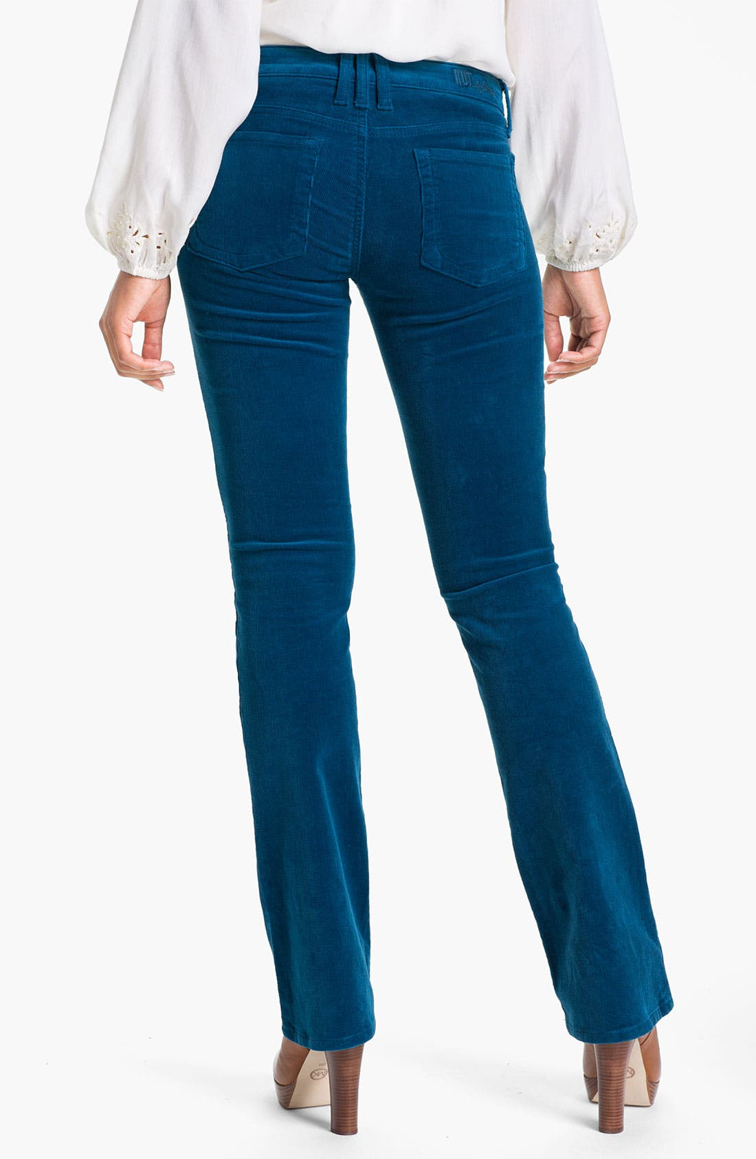 Baby Bootcut Corduroy Jeans,                             Alternate thumbnail 46, color,
