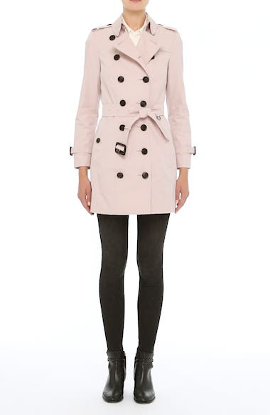 Sandringham Mid Slim Trench Coat, video thumbnail
