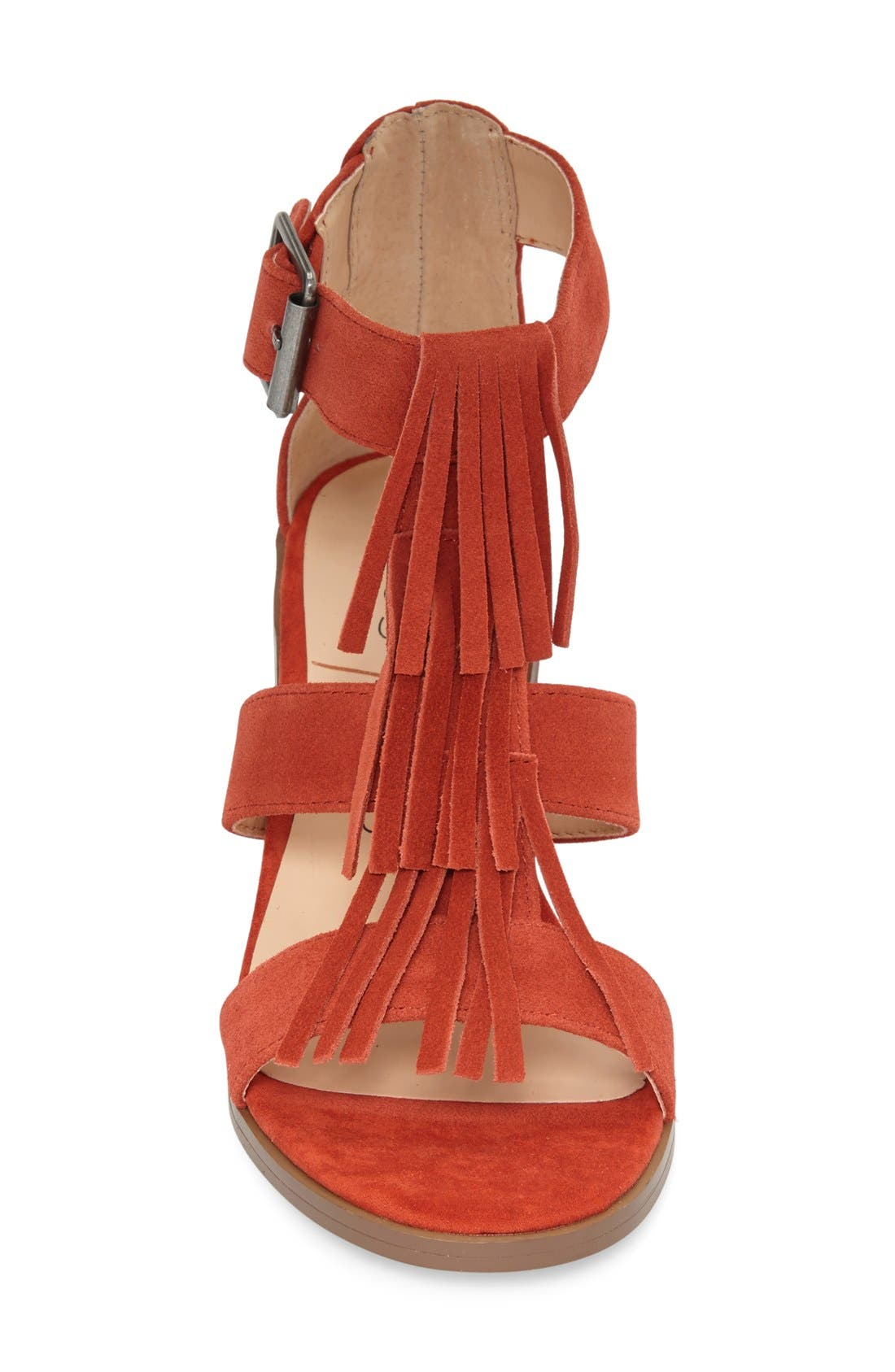 'Delilah' Fringe Sandal,                             Alternate thumbnail 24, color,
