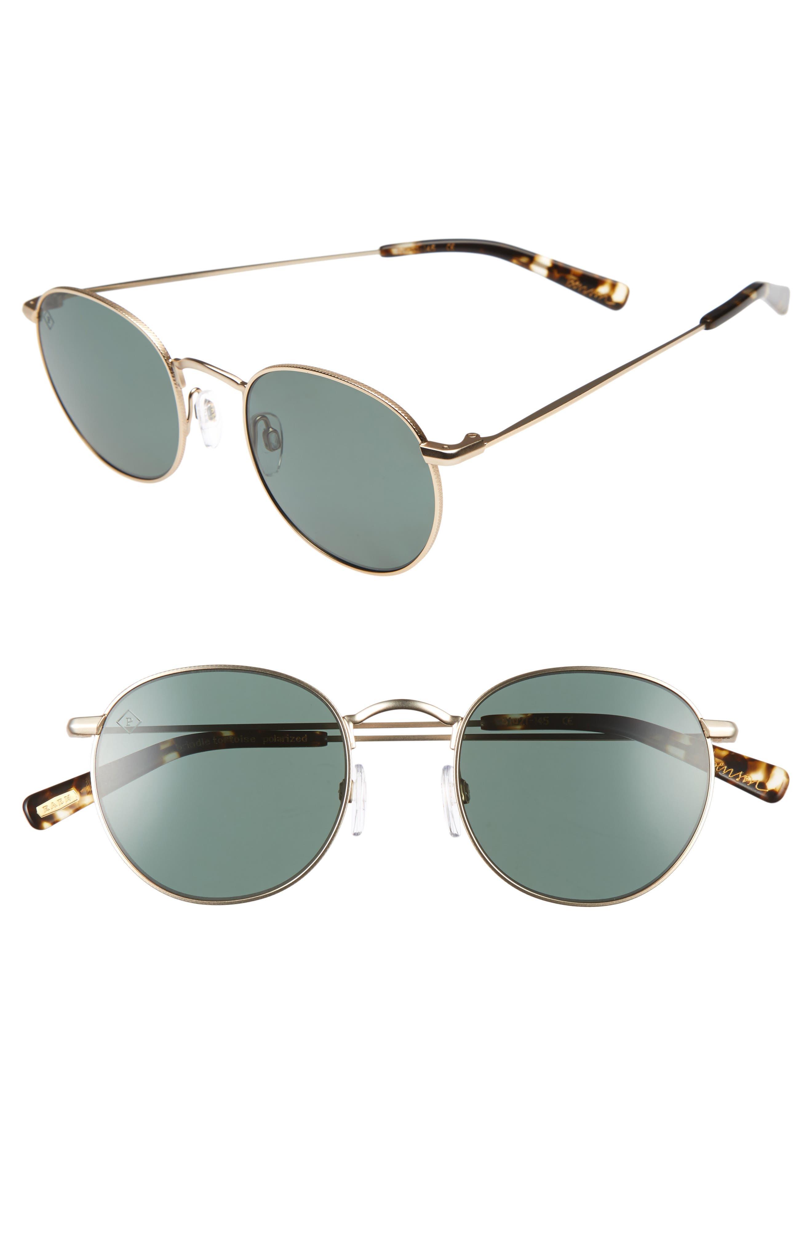 Benson 51mm Polarized Sunglasses,                             Alternate thumbnail 2, color,                             710
