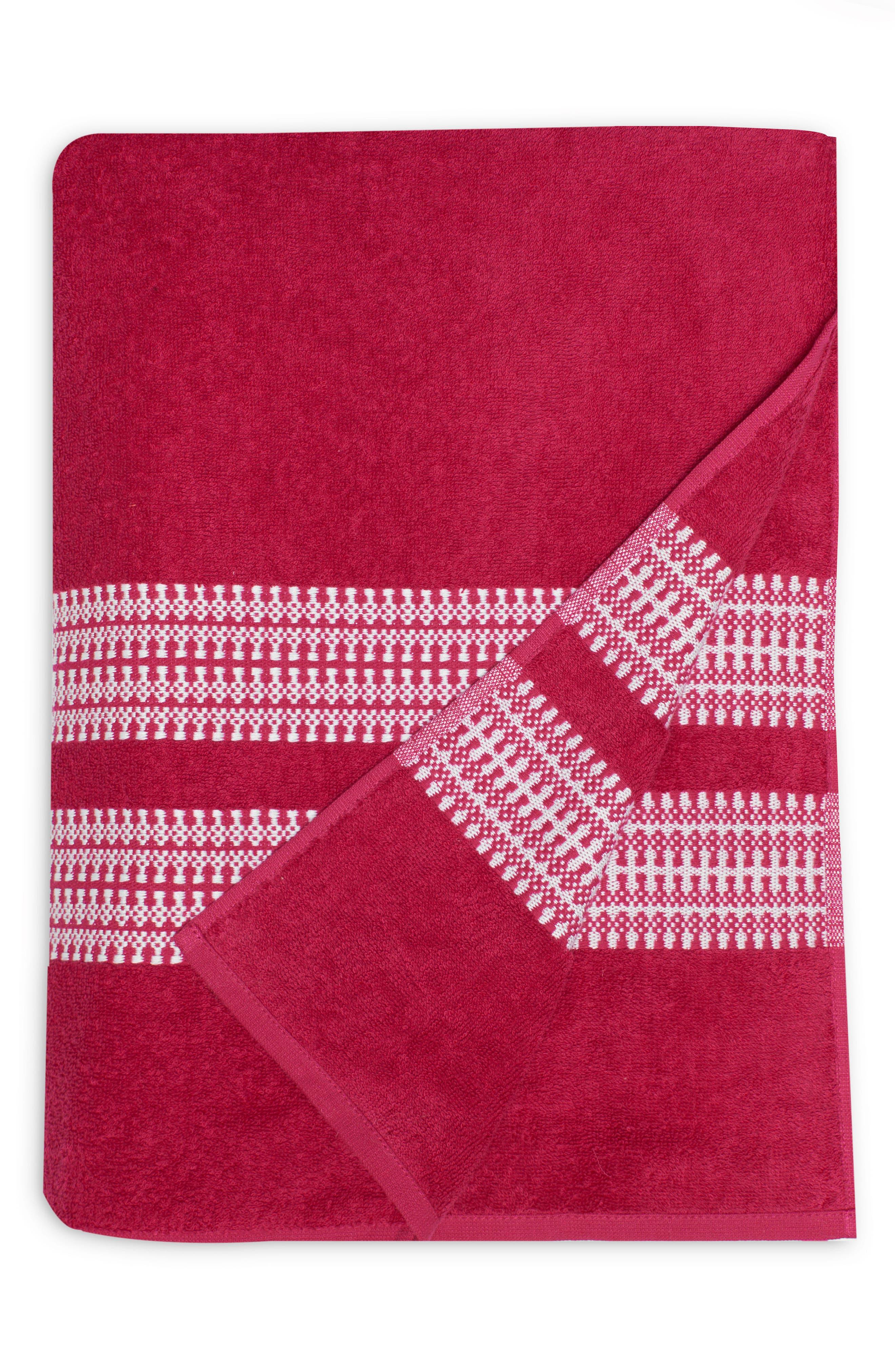 Bay Stripe Beach Towel,                             Main thumbnail 3, color,