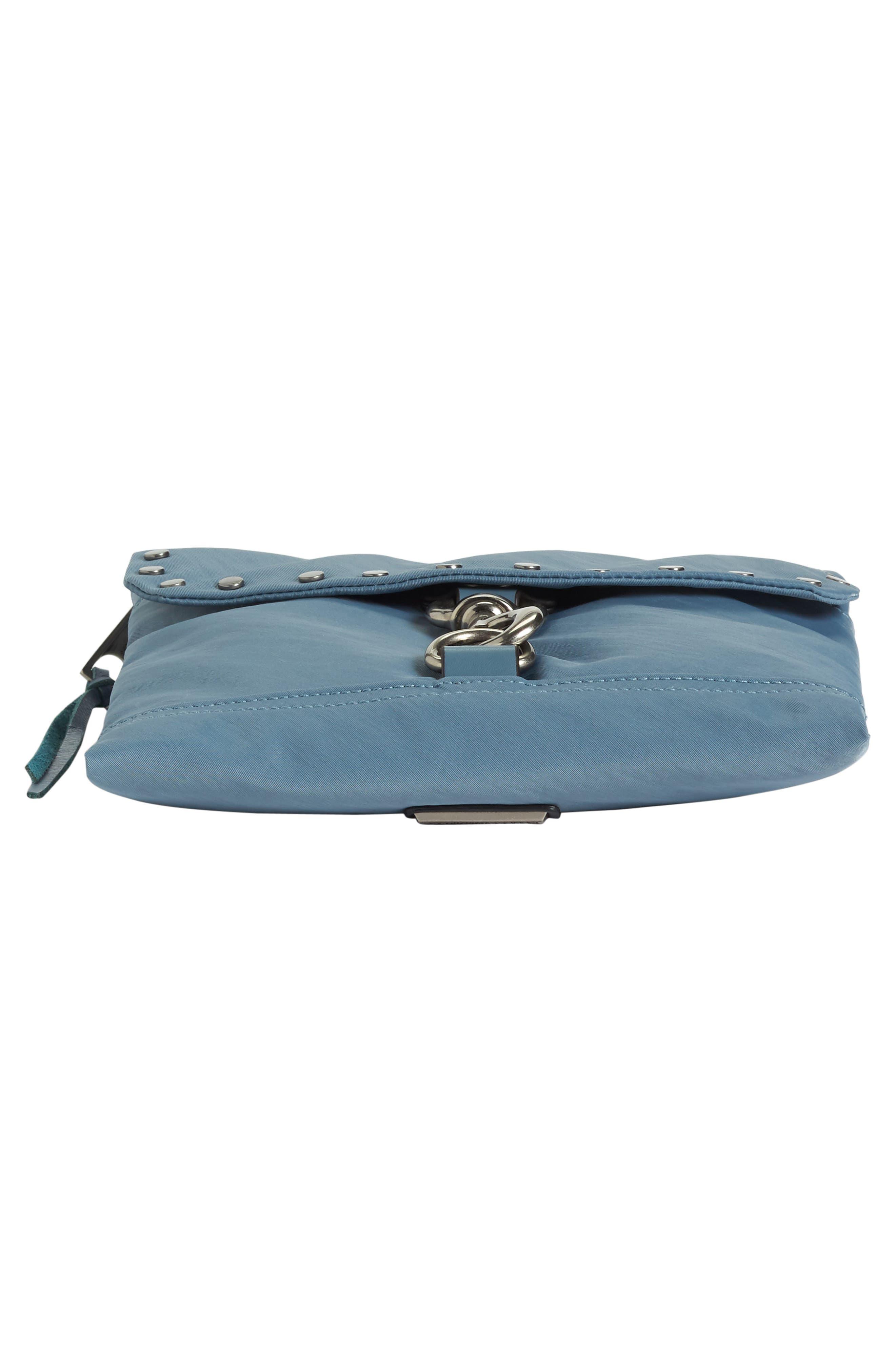 Nylon Flap Crossbody Bag,                             Alternate thumbnail 34, color,