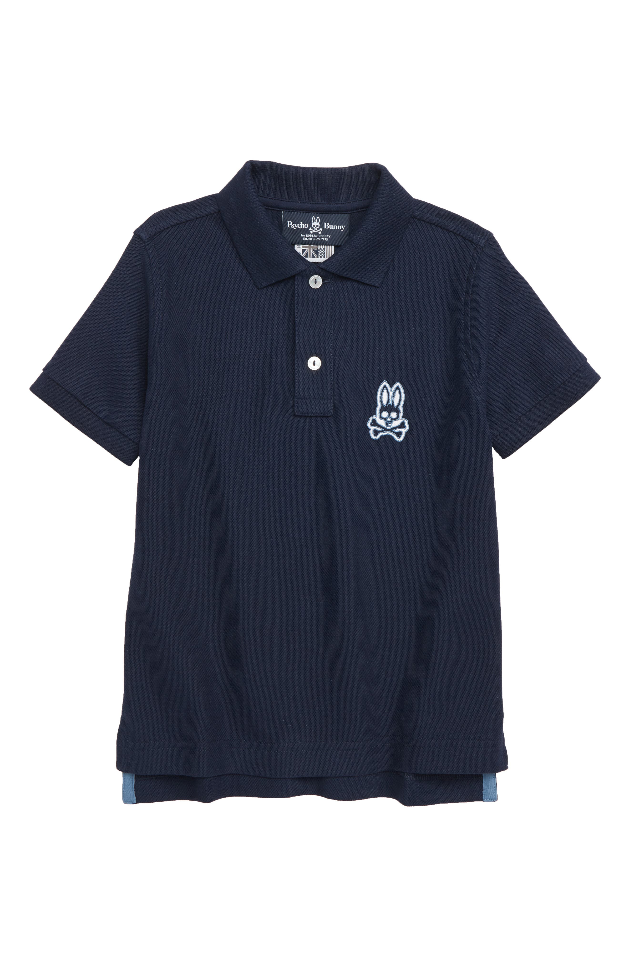 Alto Bunny Polo,                             Main thumbnail 1, color,                             NAVY