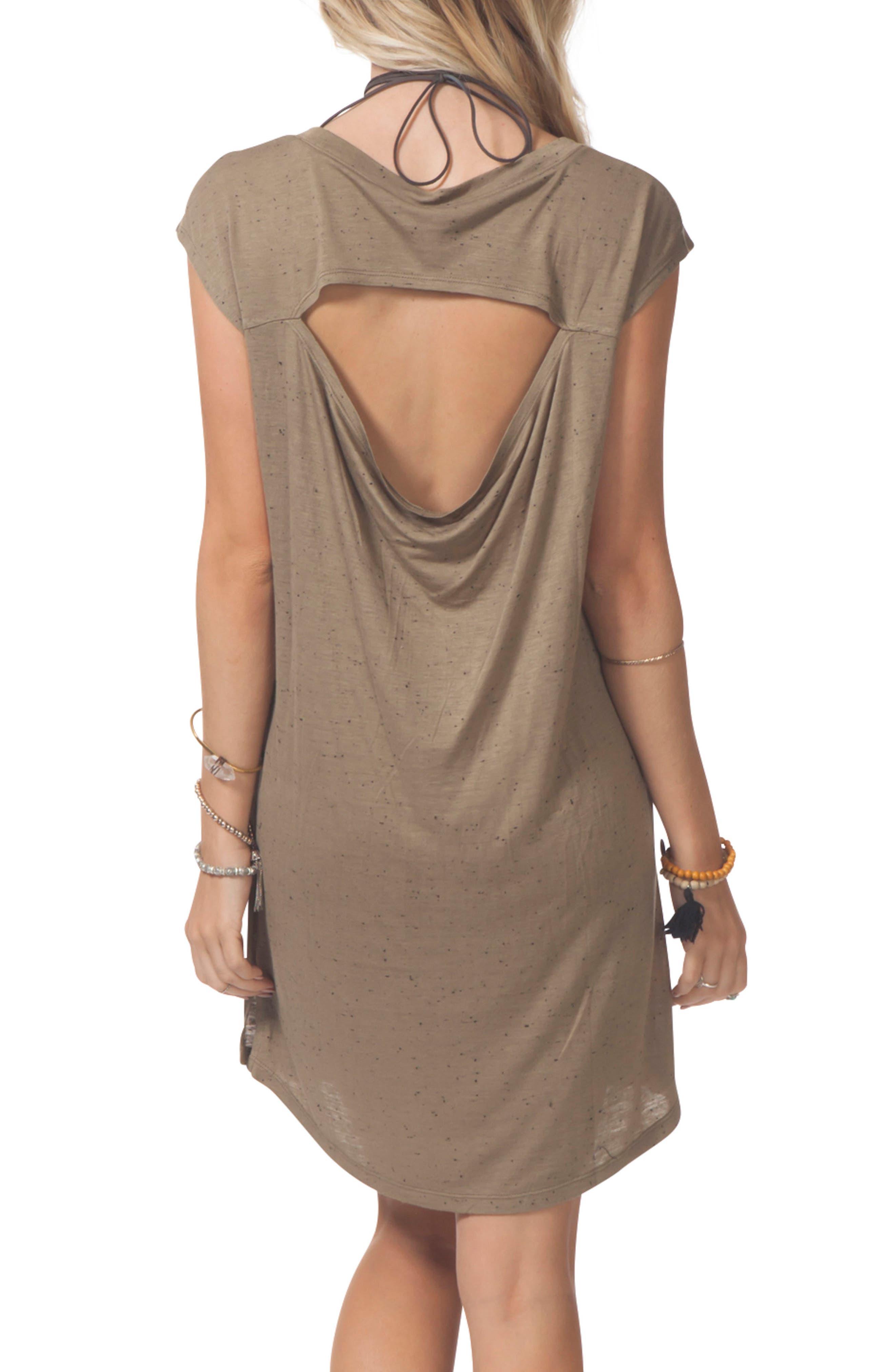 Premium Surf Knit Dress,                             Alternate thumbnail 4, color,