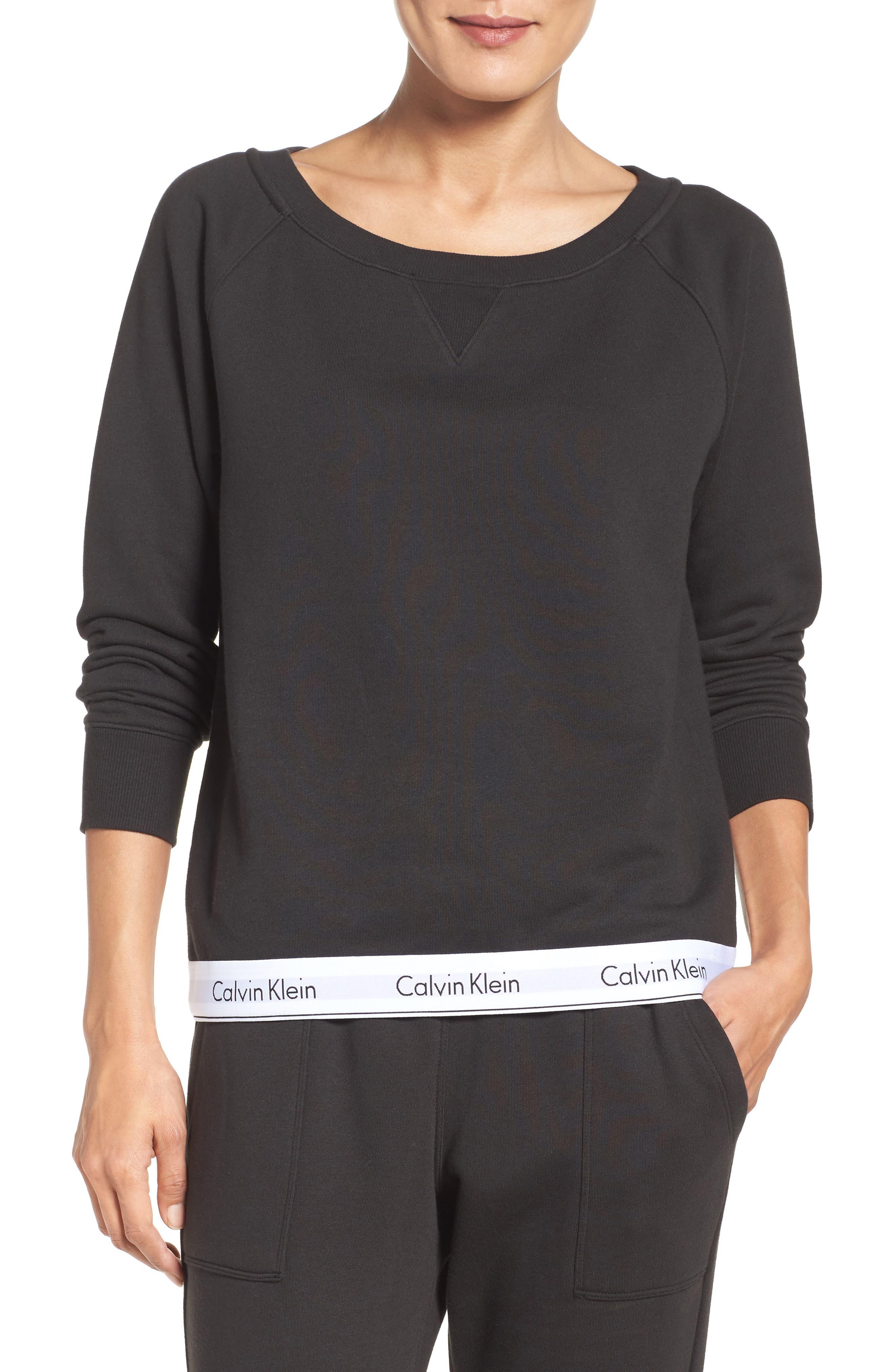 Lounge Sweatshirt,                             Main thumbnail 1, color,                             001