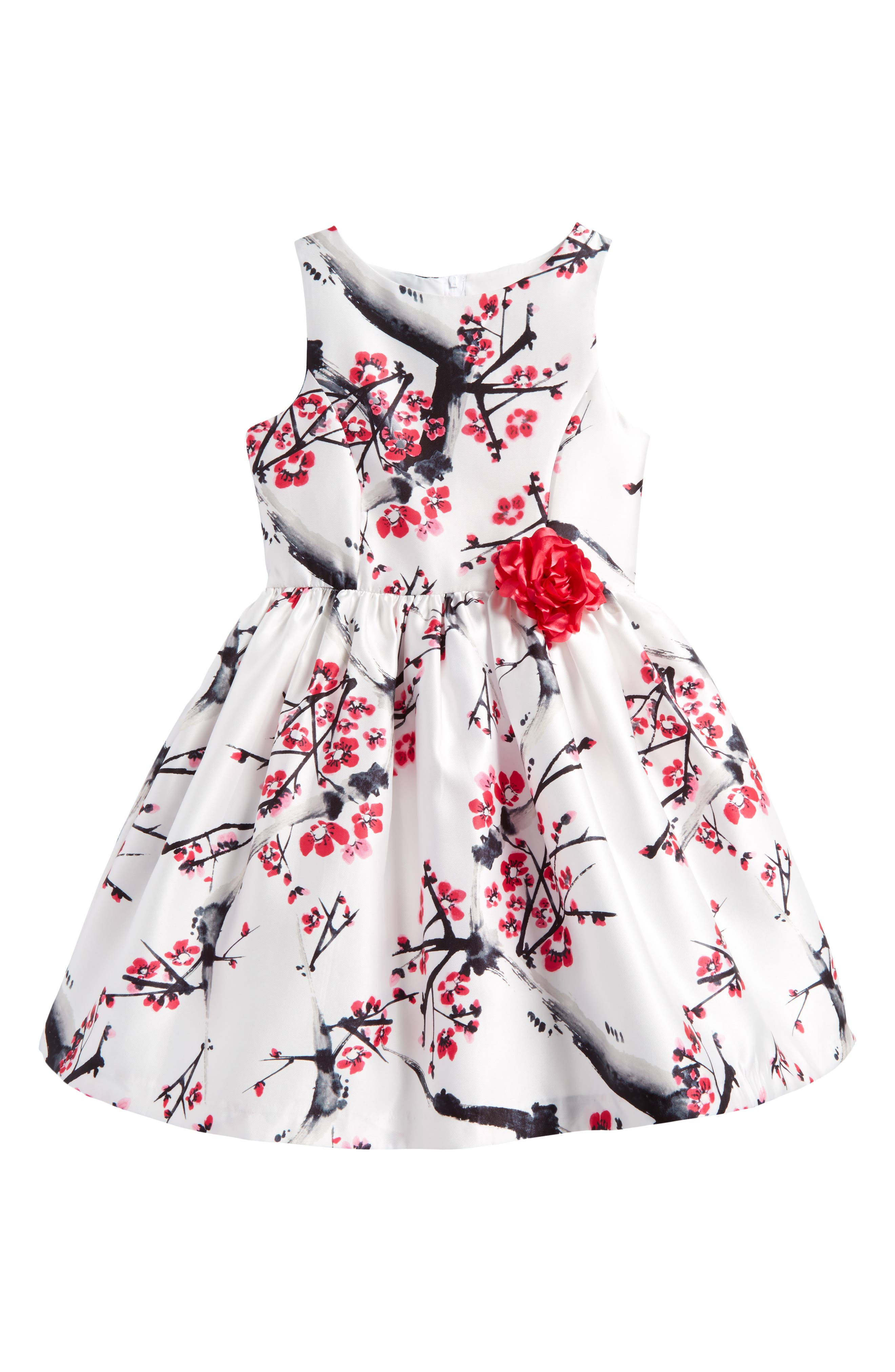 Cherry Blossom Dress,                             Main thumbnail 1, color,                             100