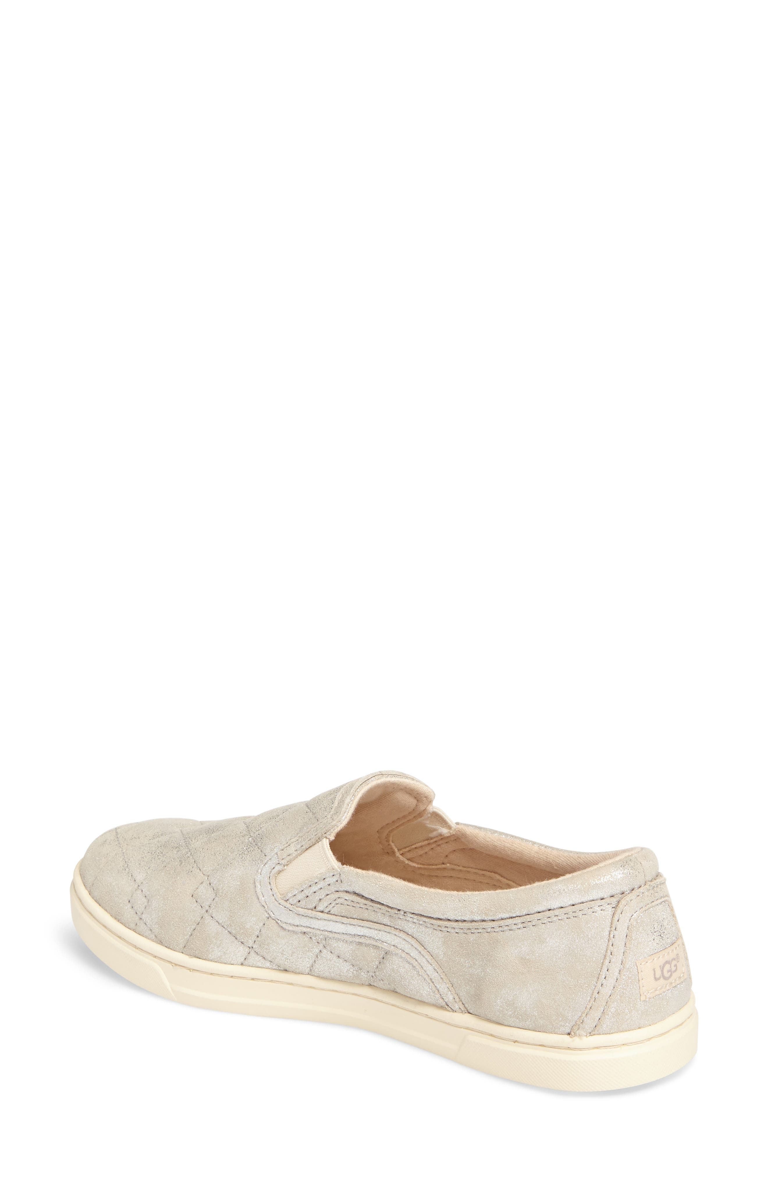 Fierce Stardust Quilted Slip-On Sneaker,                             Alternate thumbnail 2, color,                             040
