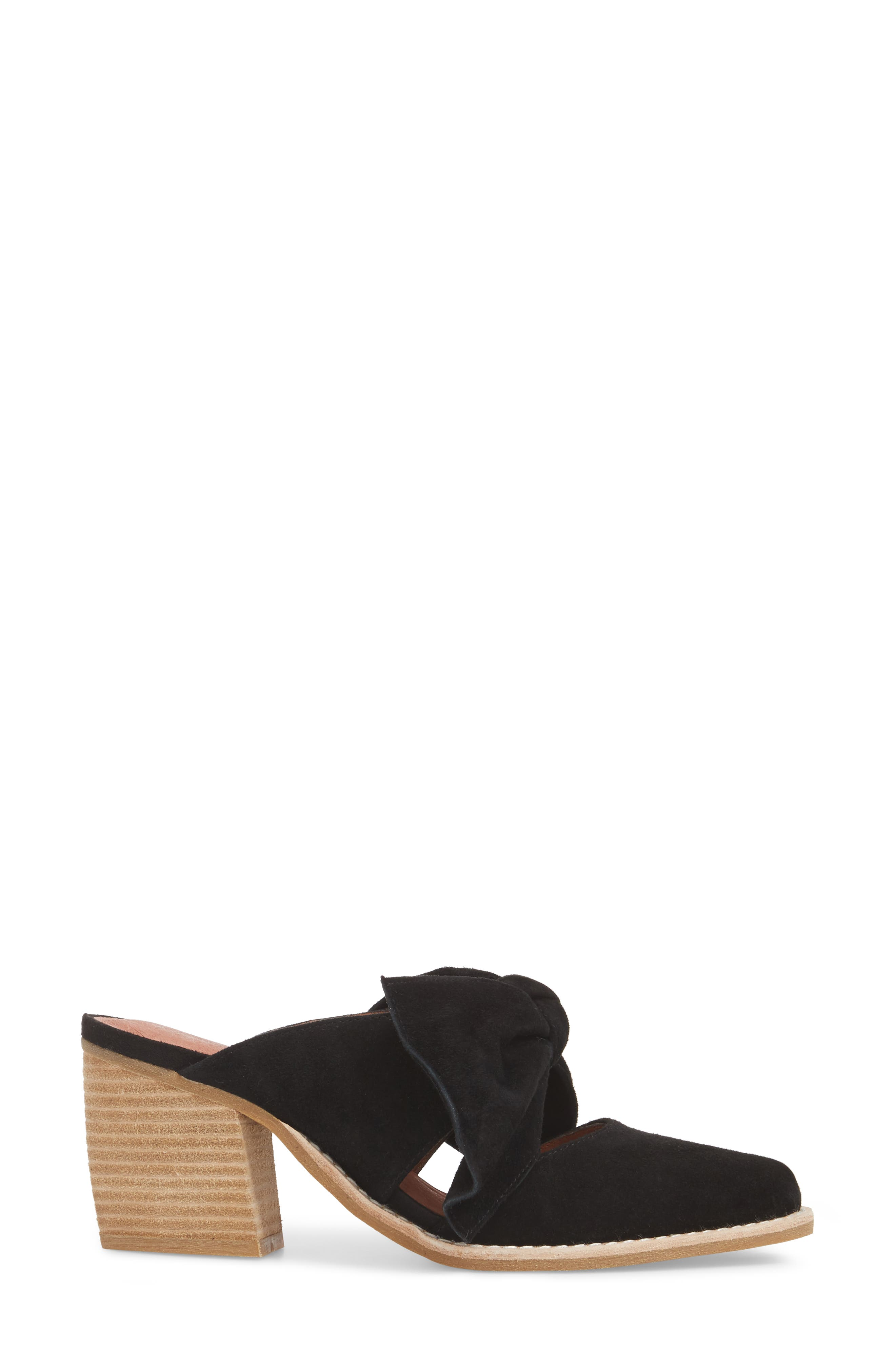 JEFFREY CAMPBELL,                             Cyrus Knotted Mary Jane Mule,                             Alternate thumbnail 3, color,                             001