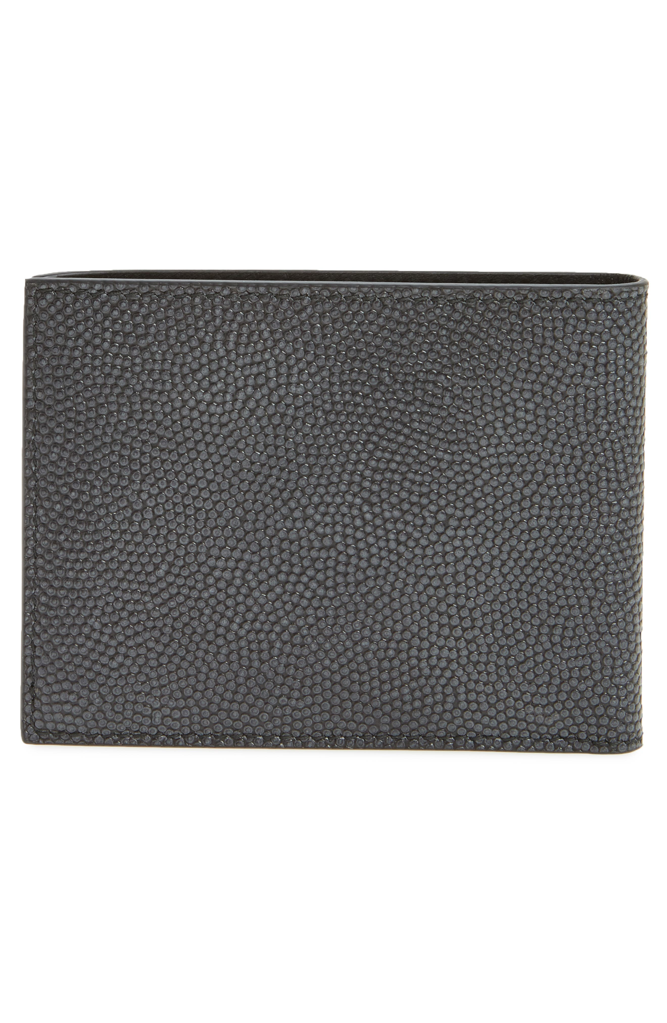 Leather Bifold Leather,                             Alternate thumbnail 3, color,                             070