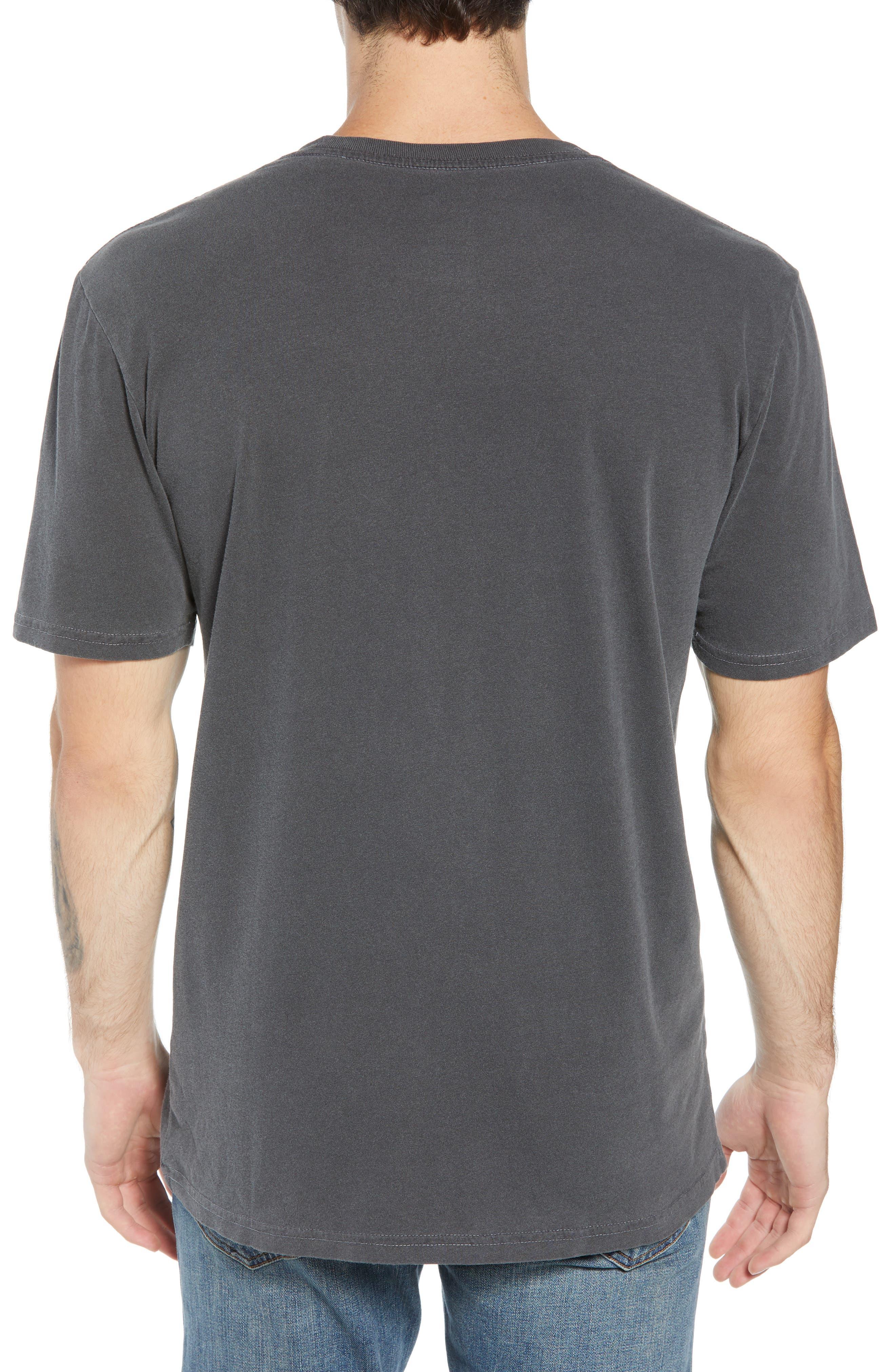 Half Dome Logo T-Shirt,                             Alternate thumbnail 2, color,                             WEATHERED BLACK