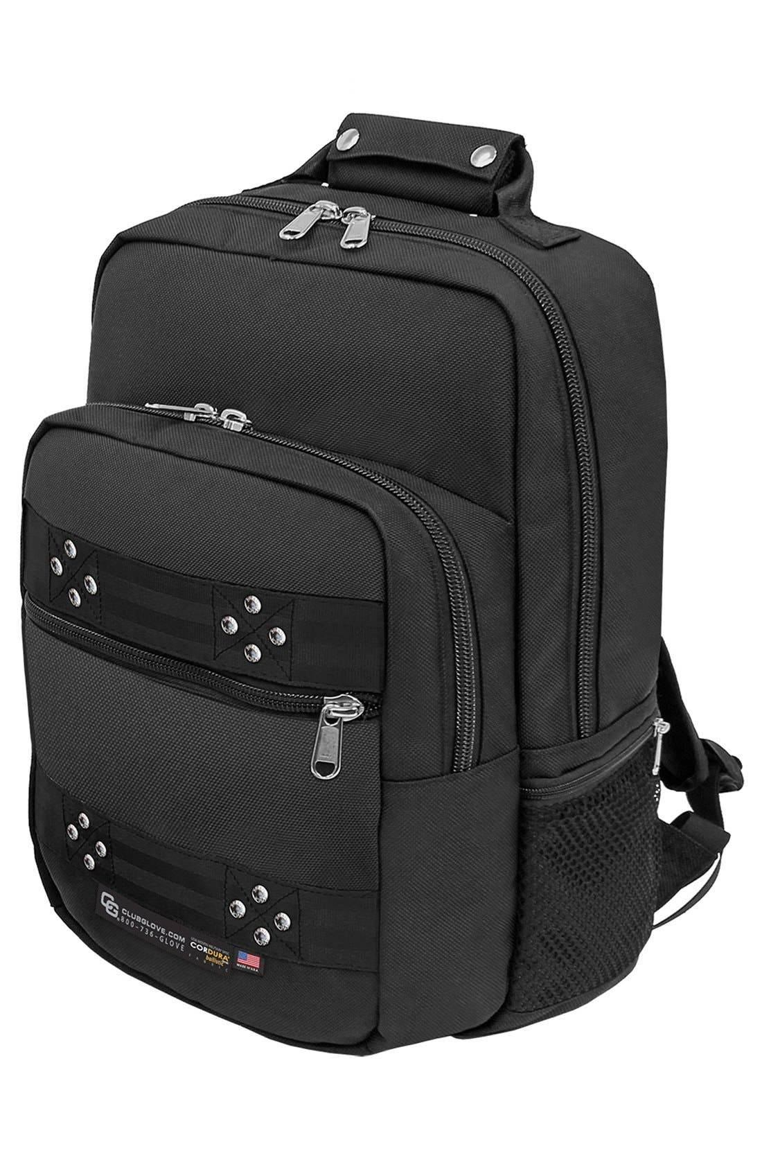 'TRS Ballistic - Executive' Backpack,                             Alternate thumbnail 2, color,                             BLACK/ BLACK