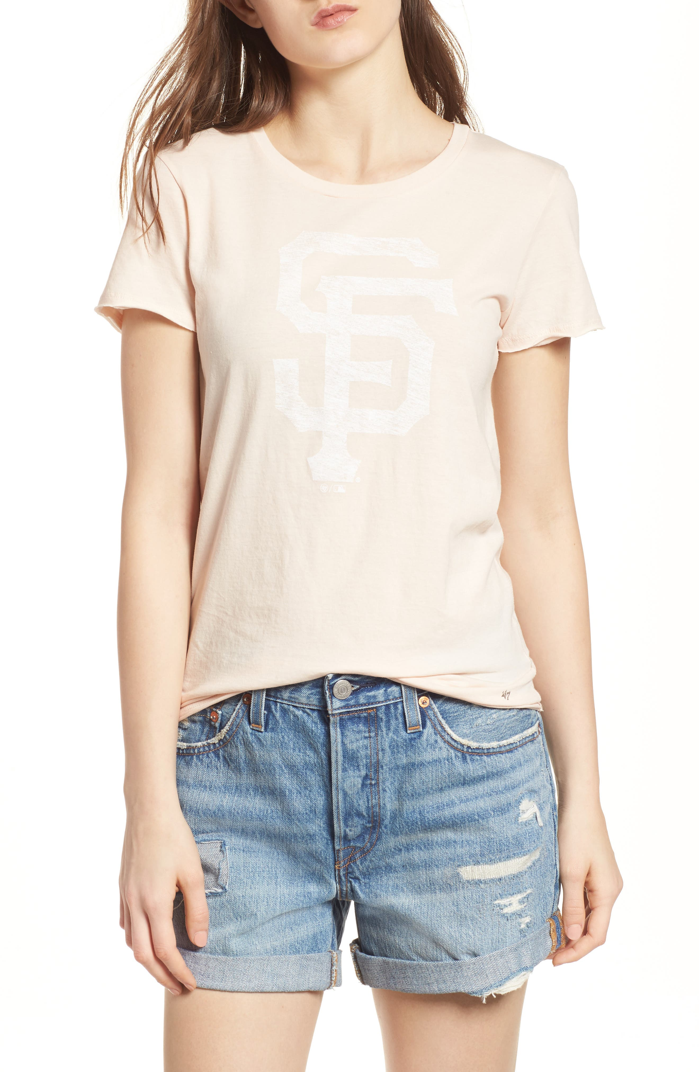 San Francisco Giants Fader Letter Tee,                         Main,                         color,