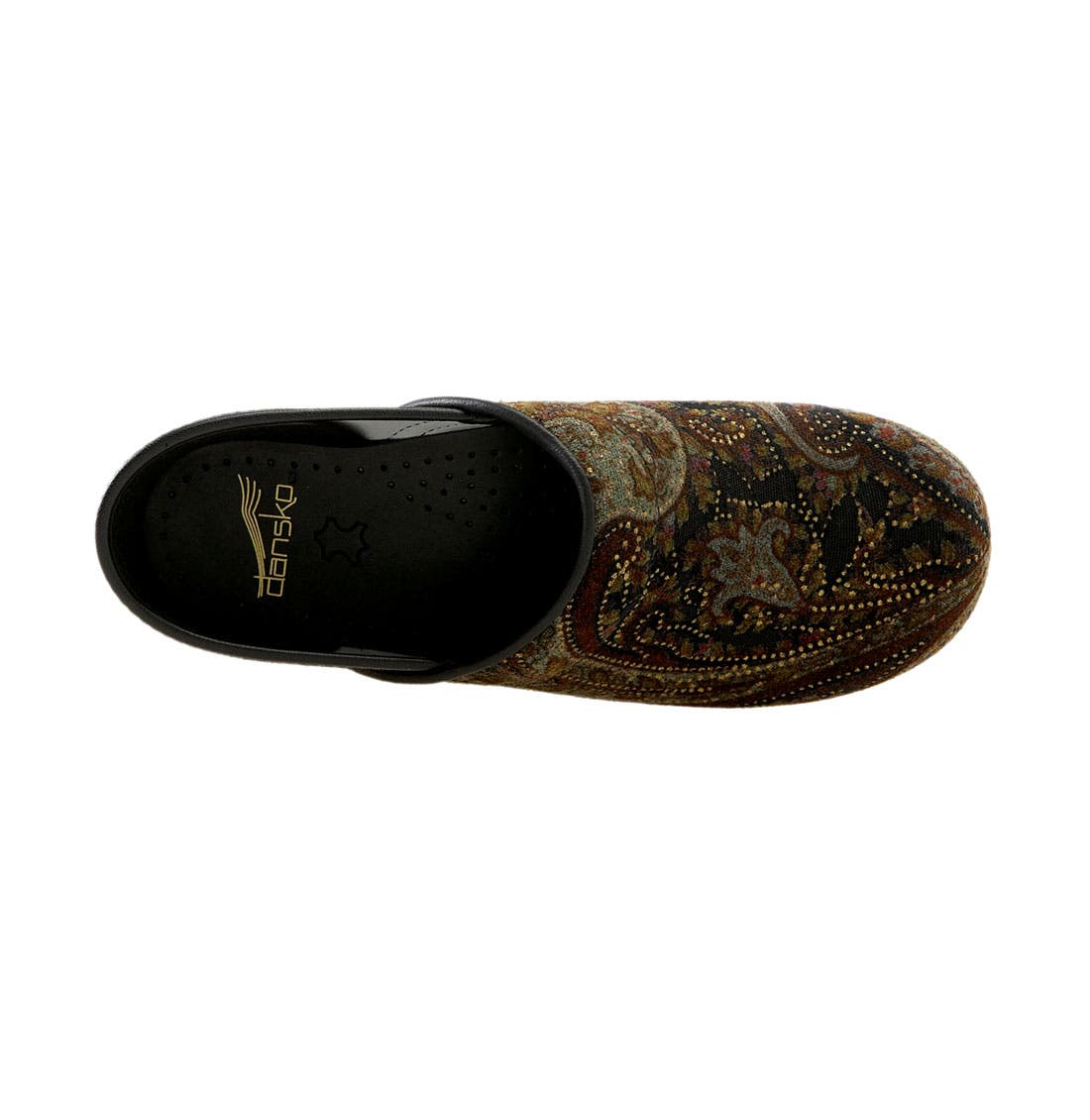 'Professional Tapestry' Clog,                             Alternate thumbnail 3, color,                             200