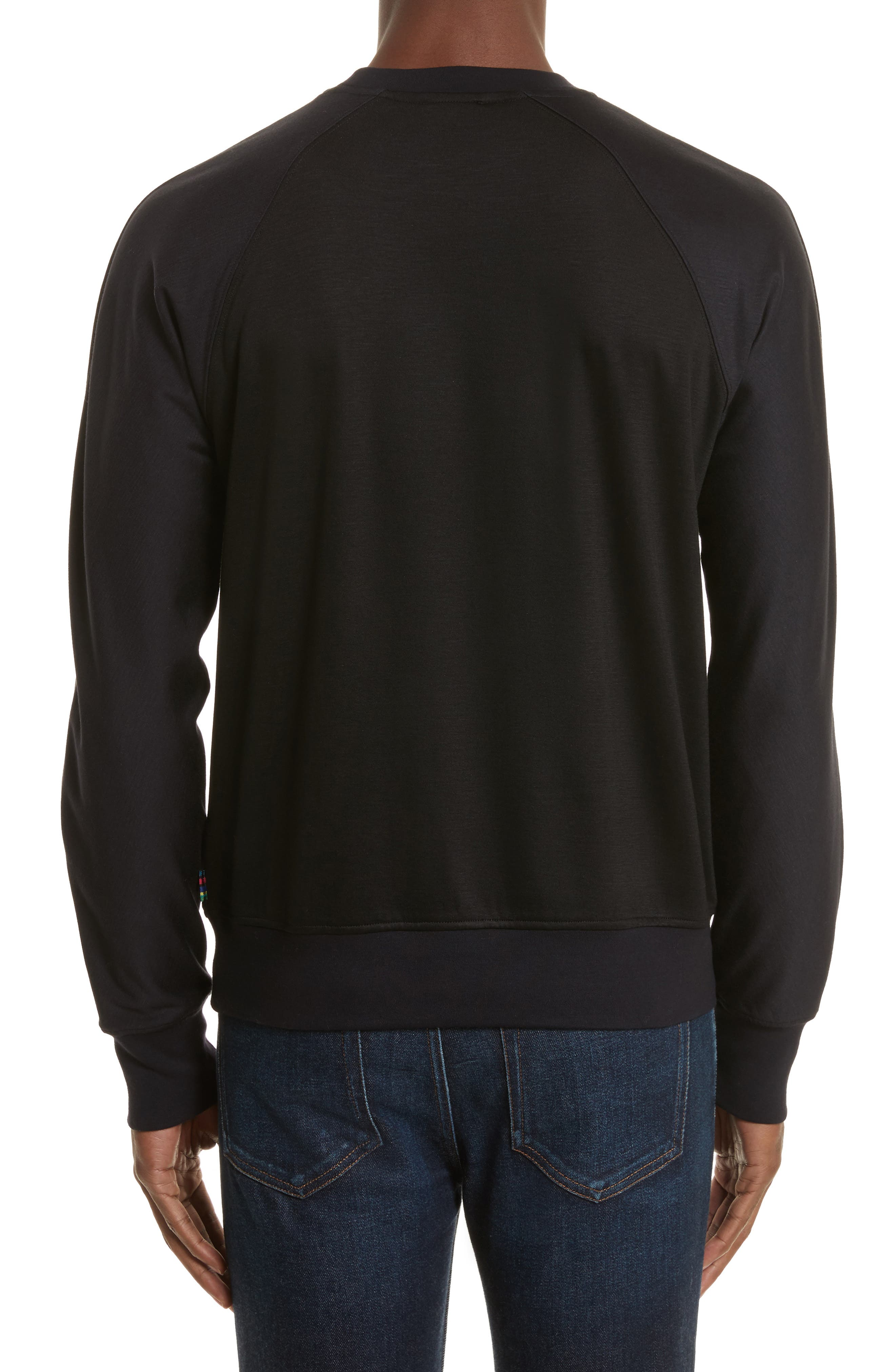 Crewneck Sweatshirt,                             Alternate thumbnail 2, color,                             001