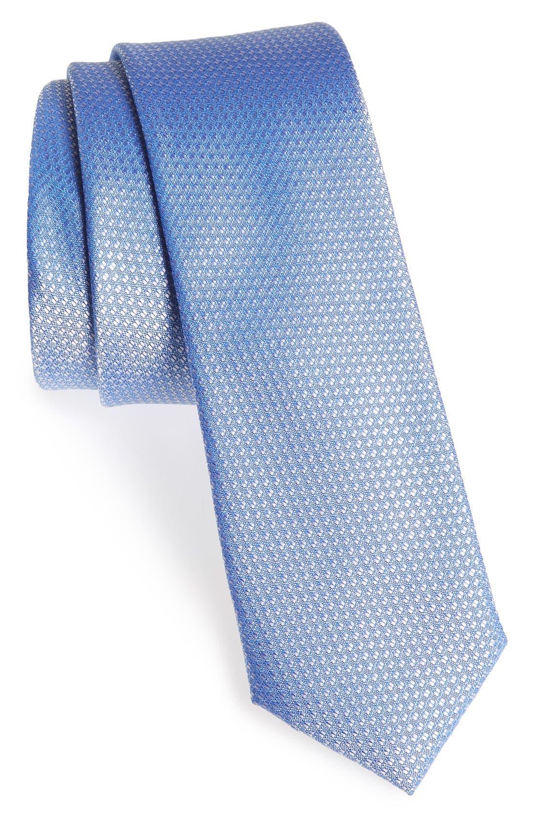 Seattle Textured Silk Tie,                             Main thumbnail 12, color,