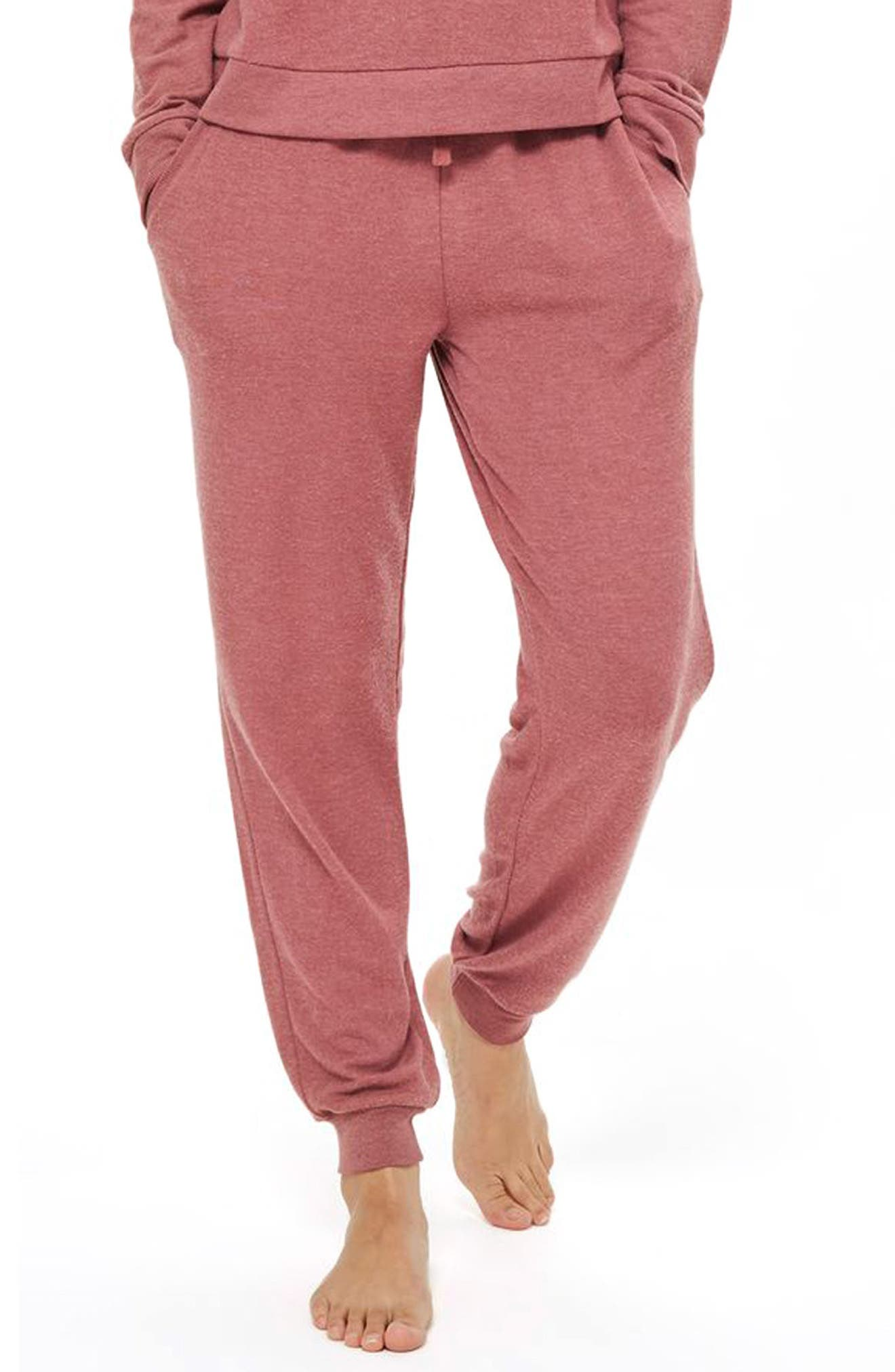 Rose Jogger Pajama Pants,                         Main,                         color, 650