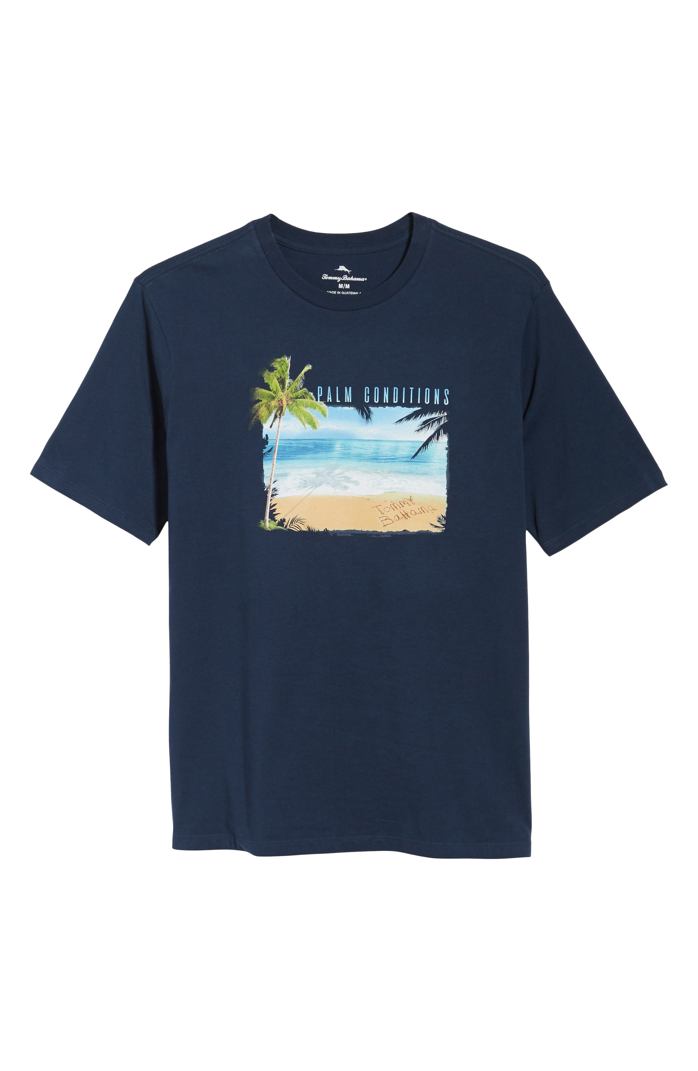 Palm Conditions T-Shirt,                             Alternate thumbnail 6, color,                             NAVY