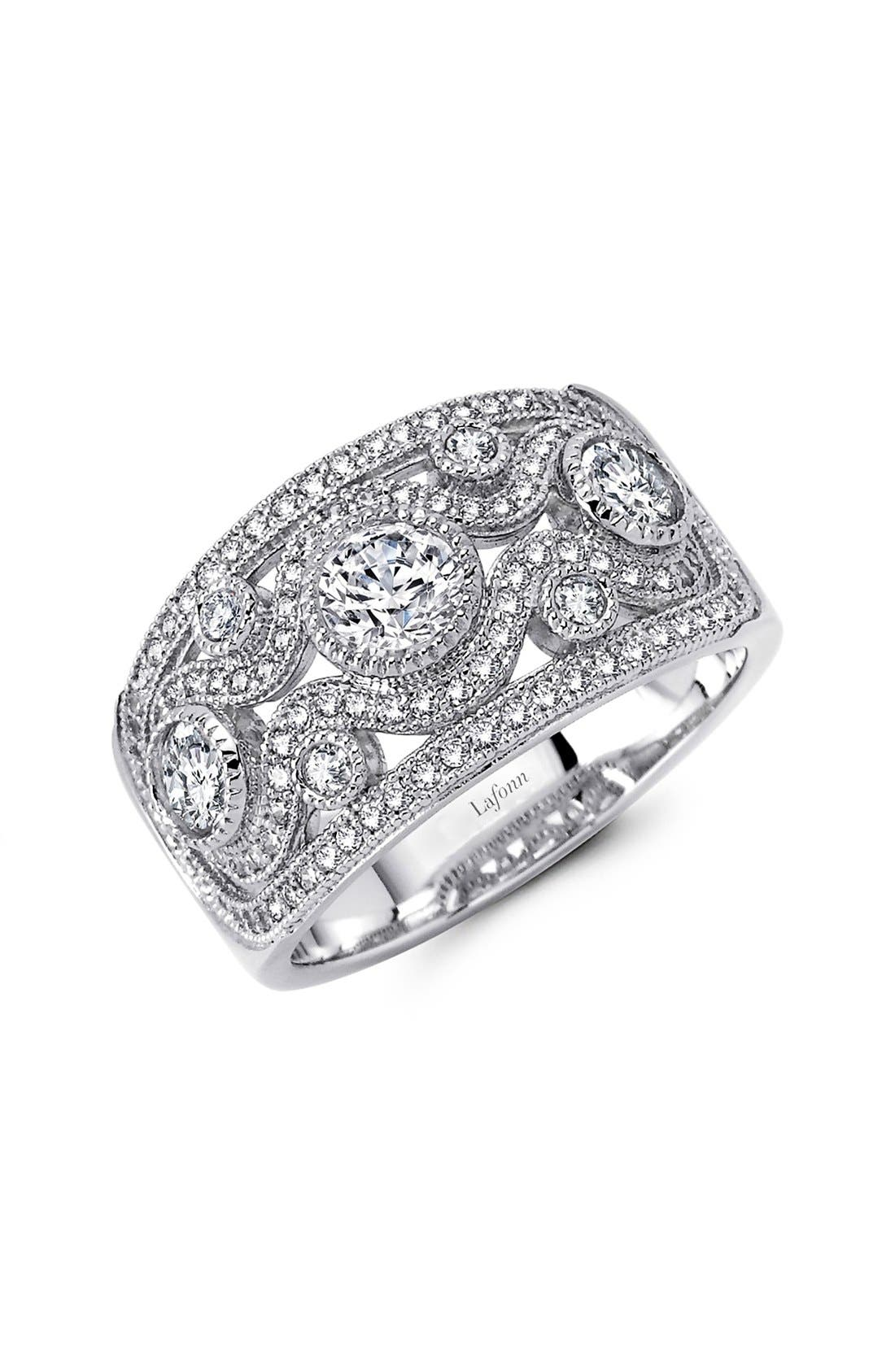 LAFONN,                             Classic Wide Band Ring,                             Main thumbnail 1, color,                             SILVER