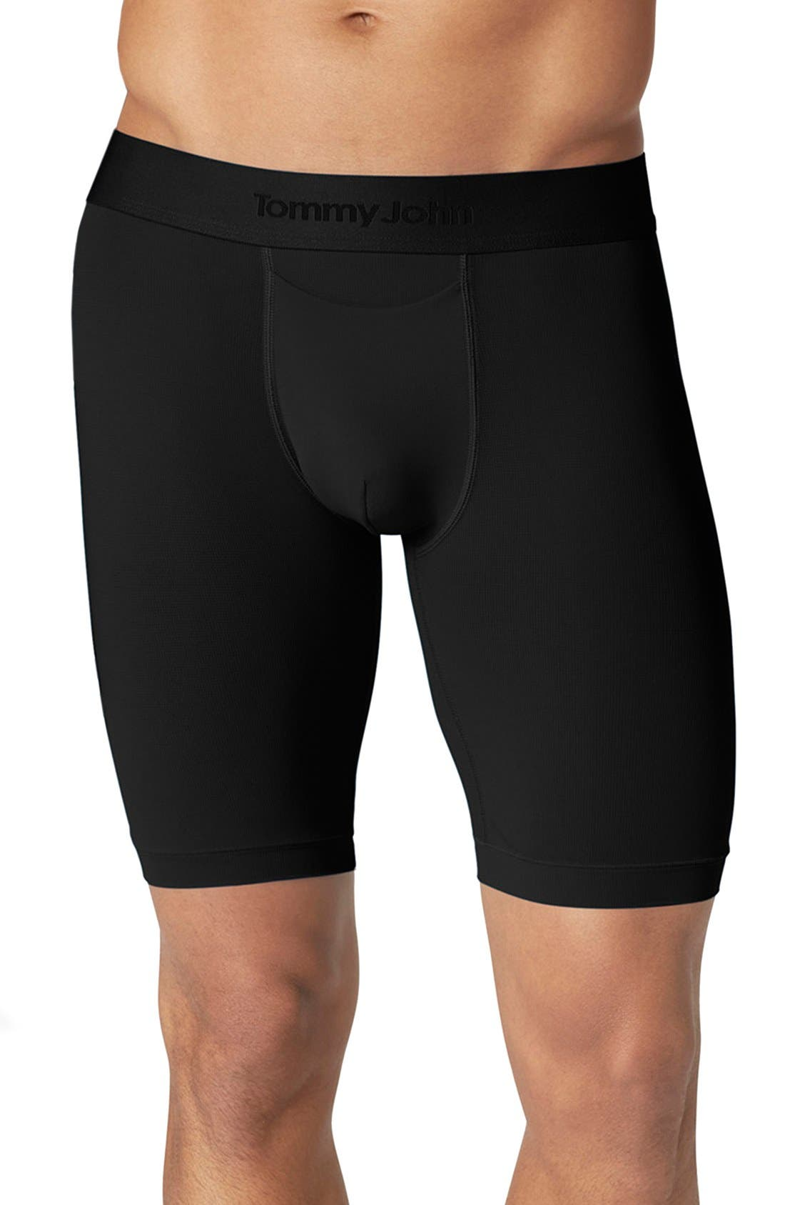 Air Boxer Briefs,                             Main thumbnail 1, color,                             BLACK