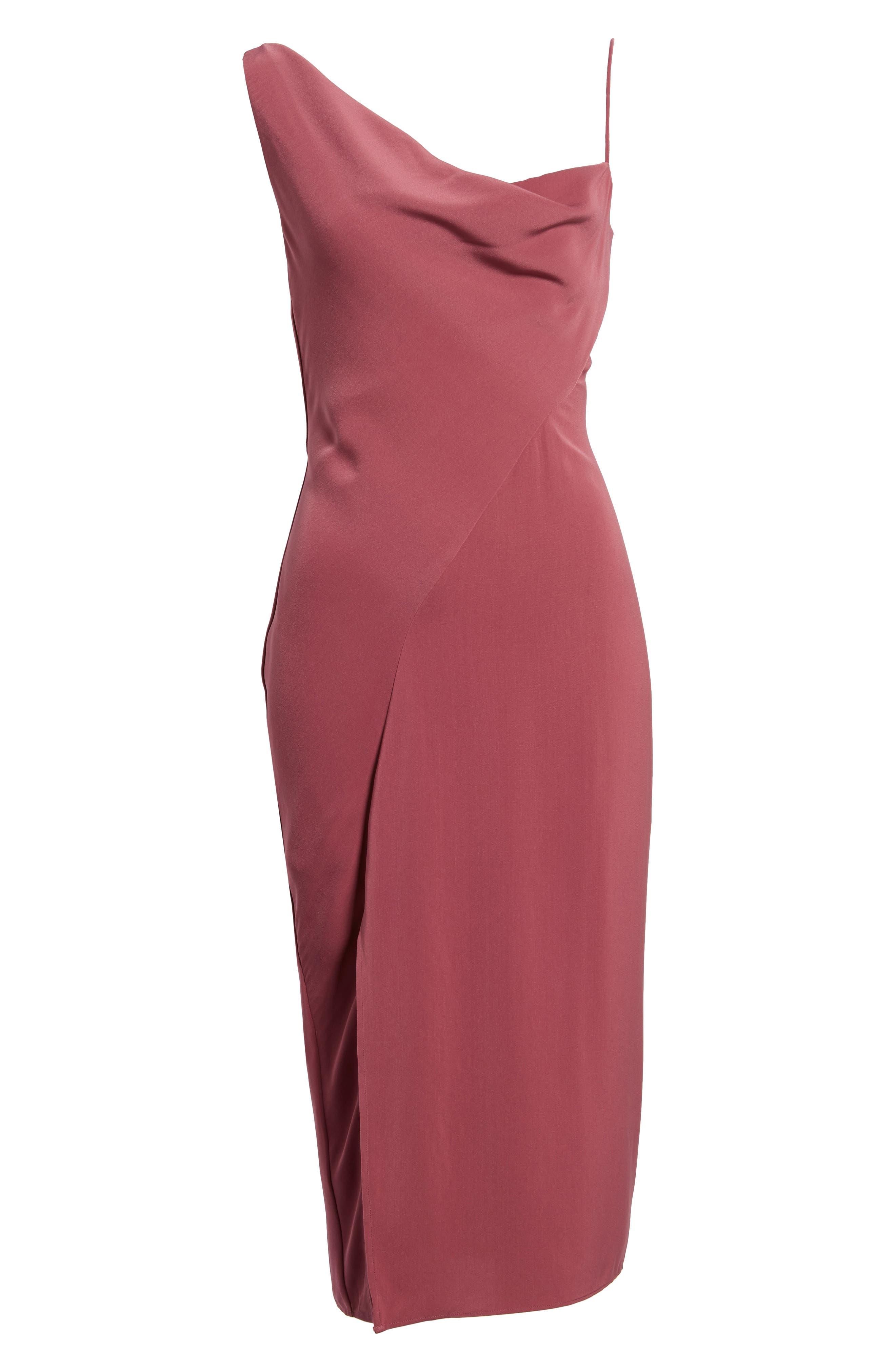 KEEPSAKE THE LABEL,                             Be Mine Midi Dress,                             Alternate thumbnail 6, color,                             930