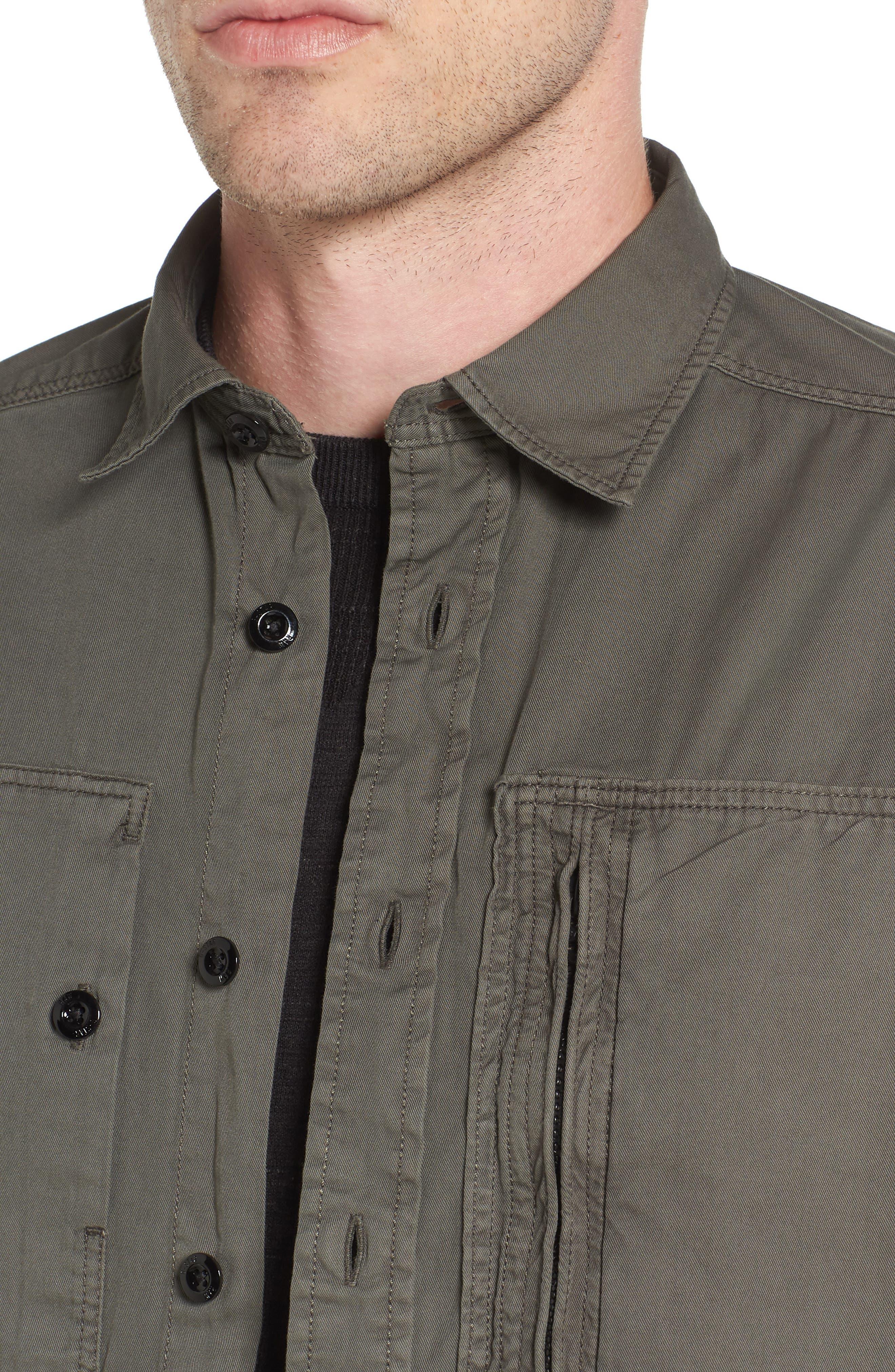 Powel Zip Pocket Shirt,                             Alternate thumbnail 4, color,                             020