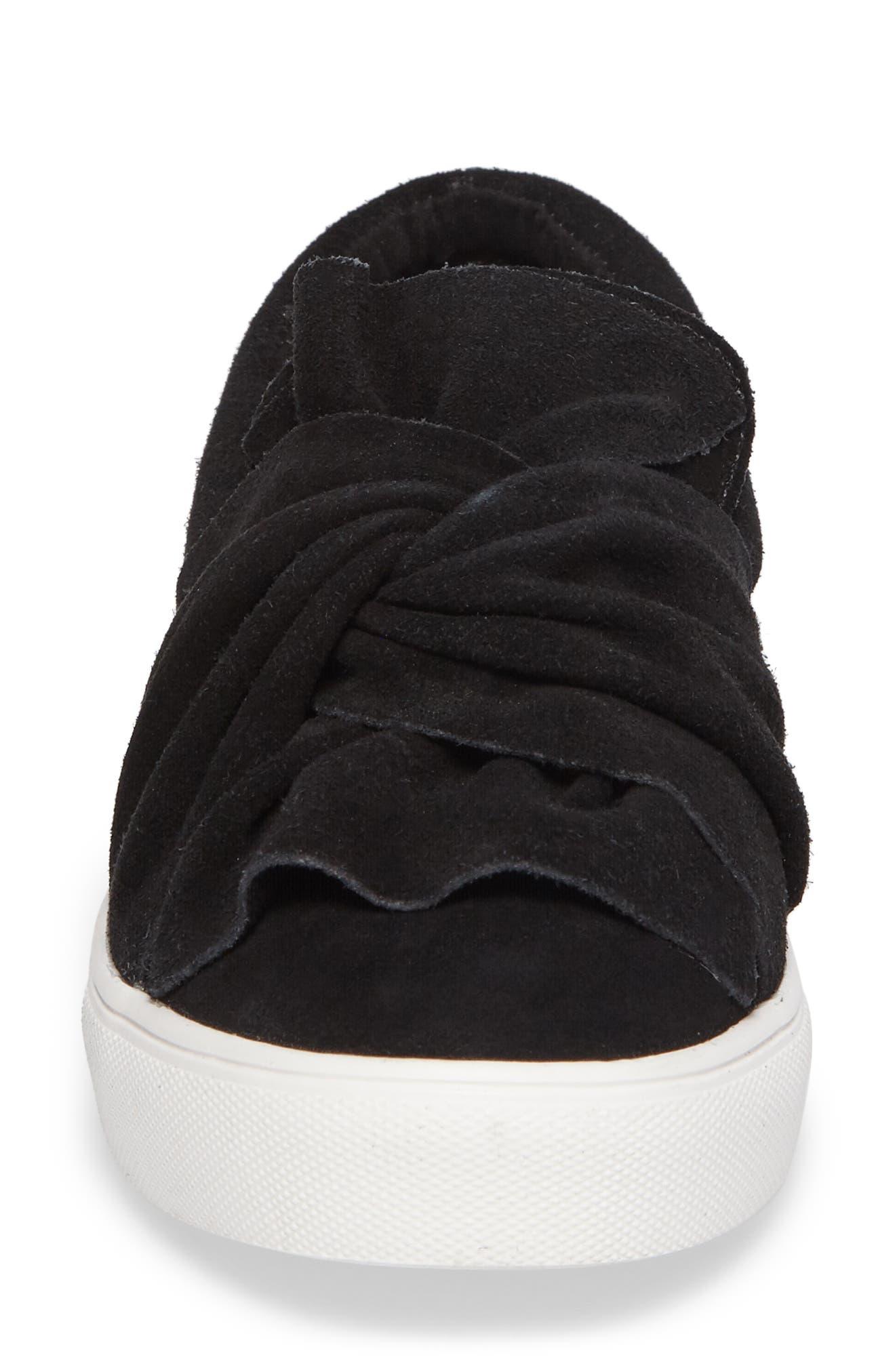 Zahara Slip-On Sneaker,                             Alternate thumbnail 4, color,                             001