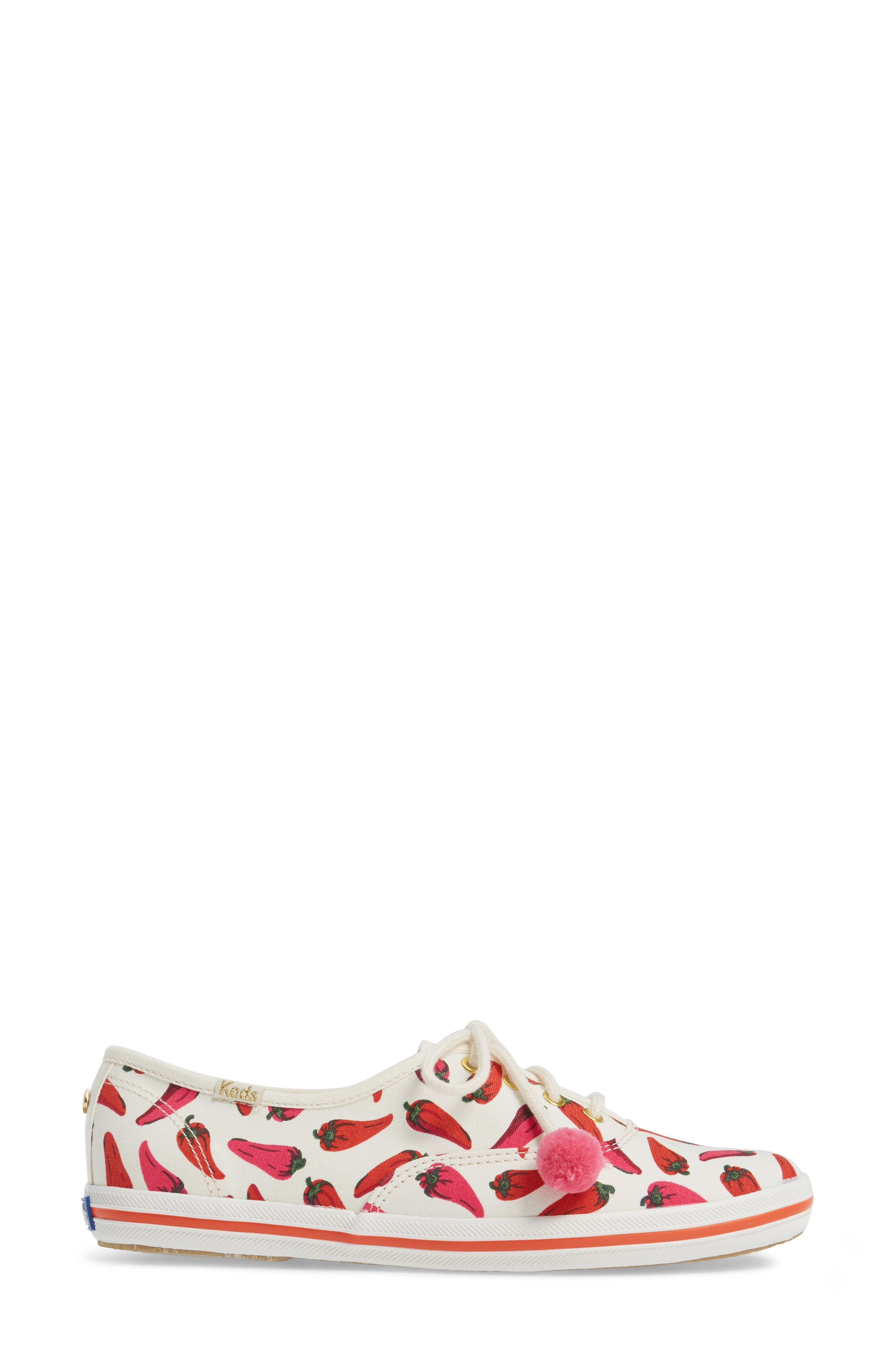 Keds<sup>®</sup> x kate spade new york champion sneaker,                             Alternate thumbnail 12, color,