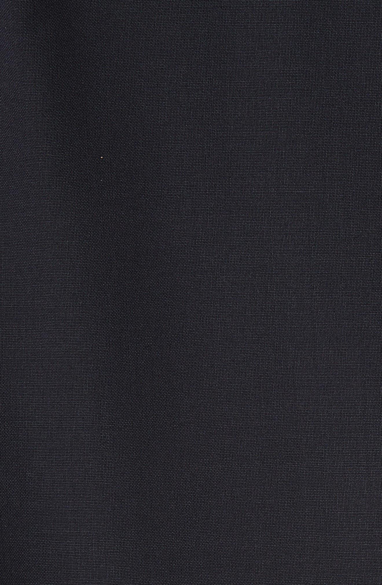 TIBI,                             Plain Weave Blazer Jumpsuit,                             Alternate thumbnail 6, color,                             DARK NAVY