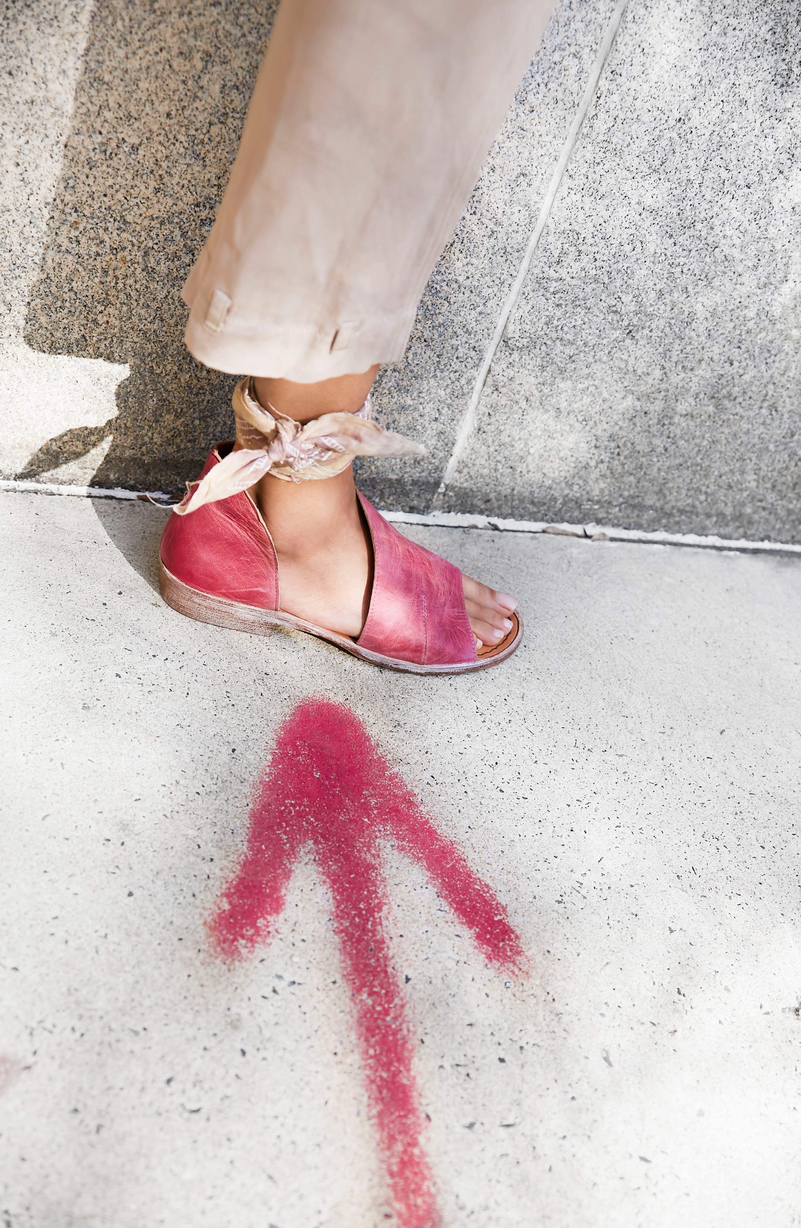 'Mont Blanc' Asymmetrical Sandal,                             Alternate thumbnail 103, color,