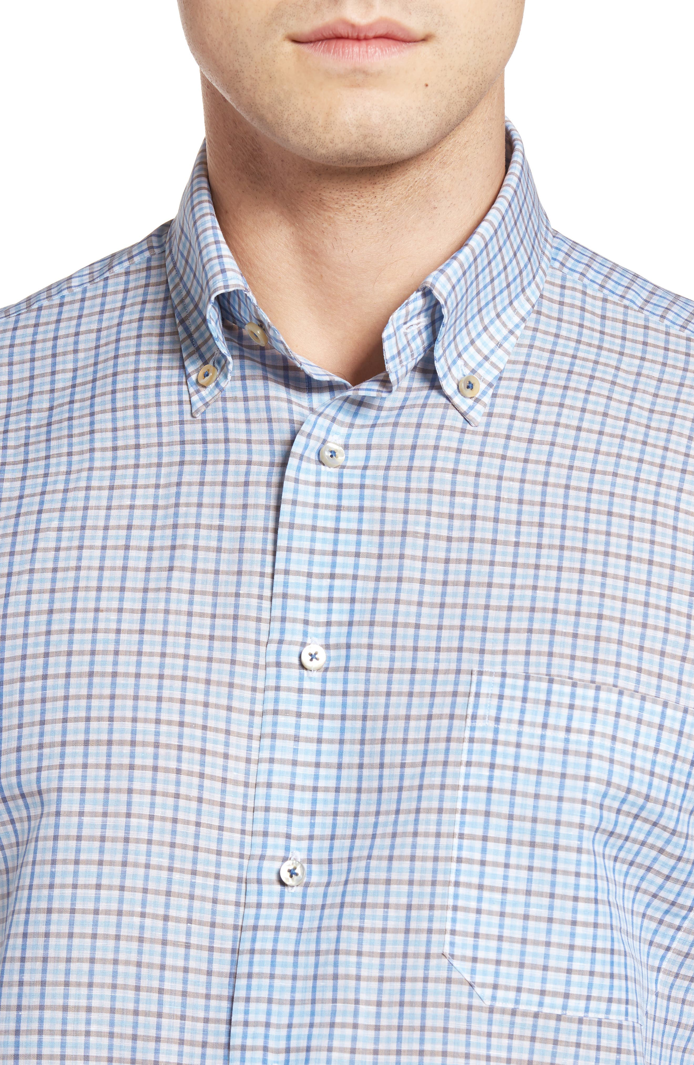 Estate Classic Fit Sport Shirt,                             Alternate thumbnail 4, color,                             248
