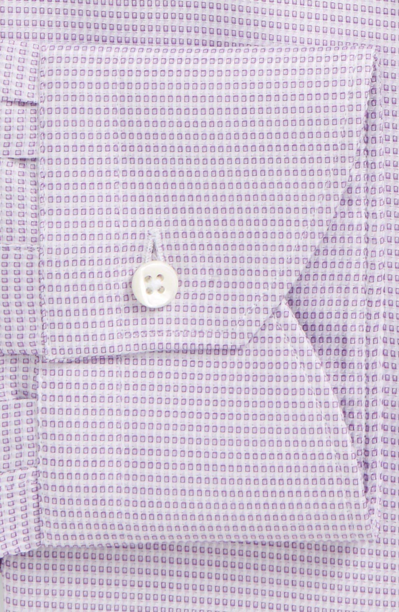 Regular Fit Geometric Dress Shirt,                             Alternate thumbnail 2, color,