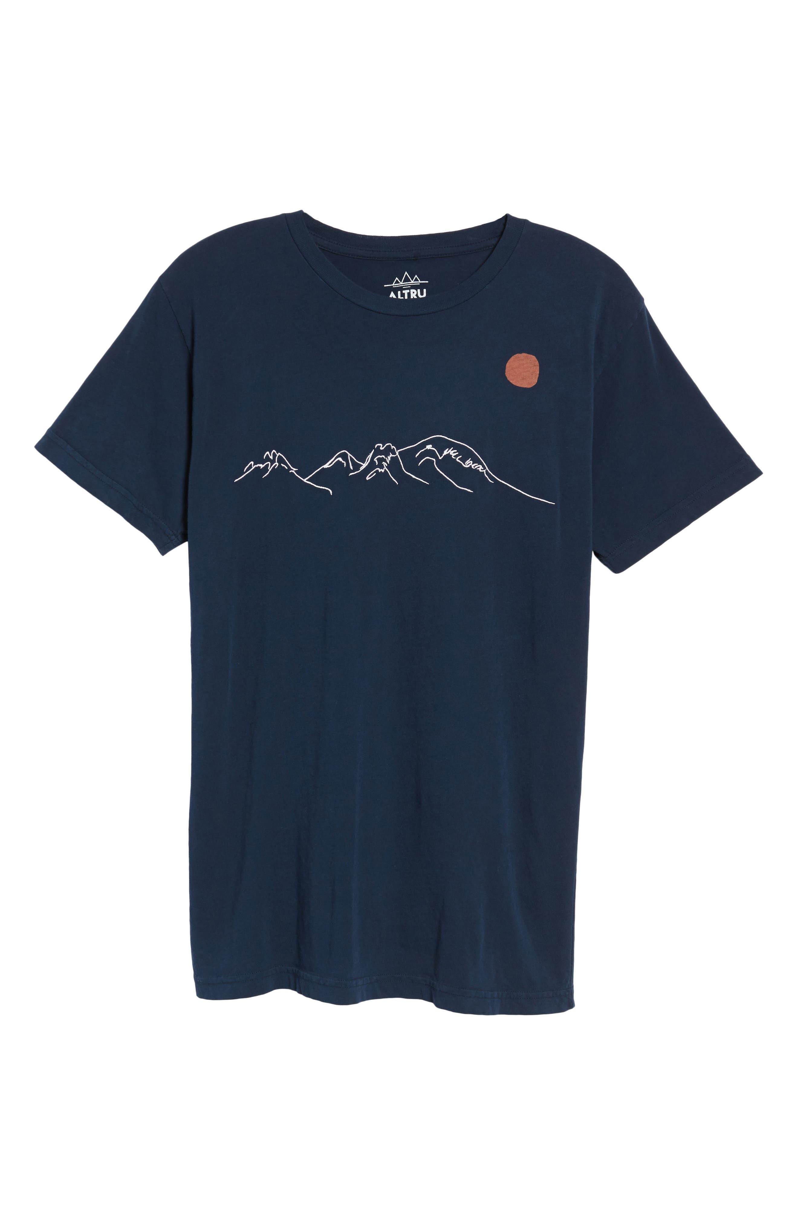 Mountain Sunrise T-Shirt,                             Alternate thumbnail 6, color,                             499