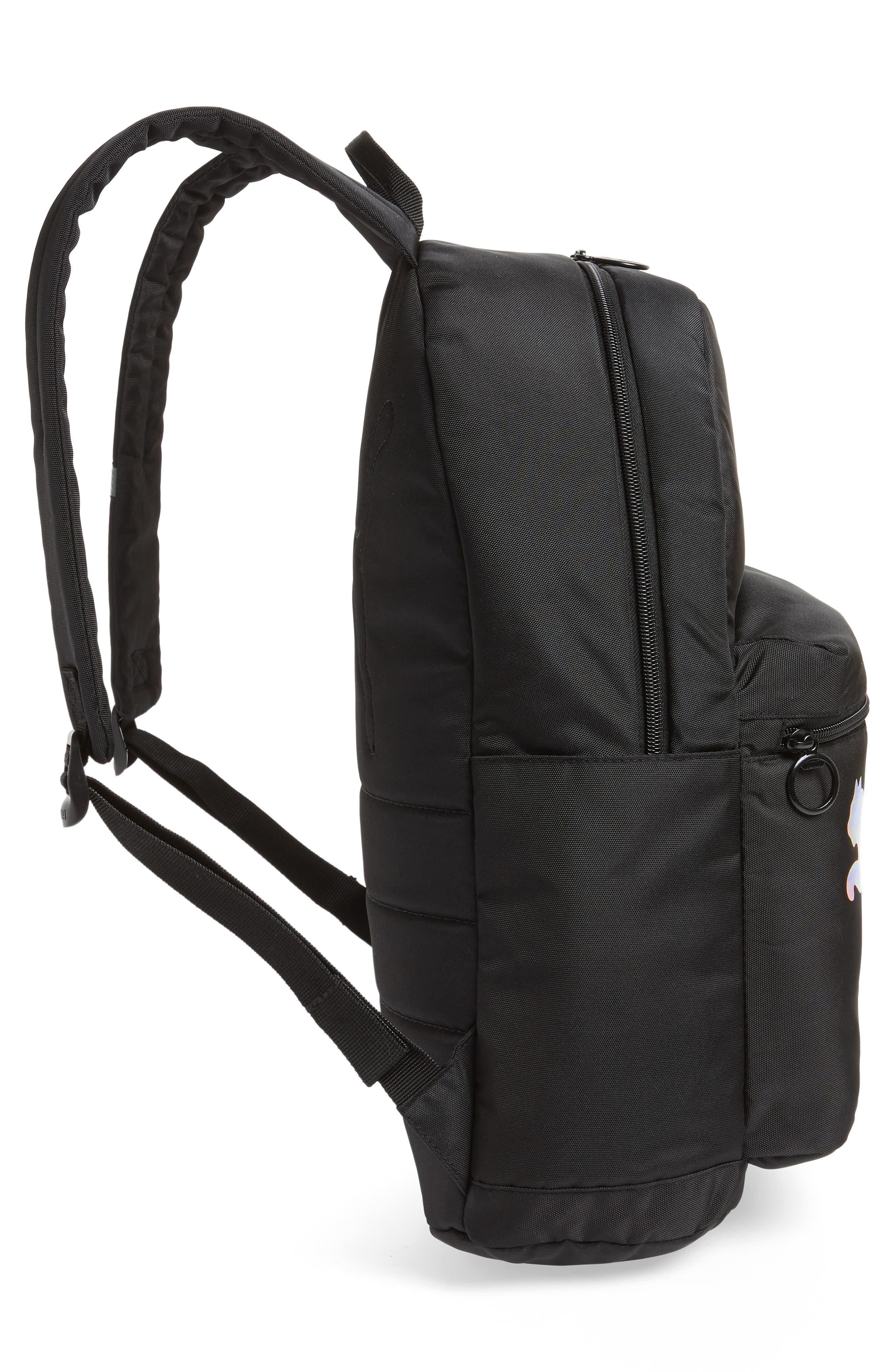 Essential Backpack,                             Alternate thumbnail 5, color,                             BLACK