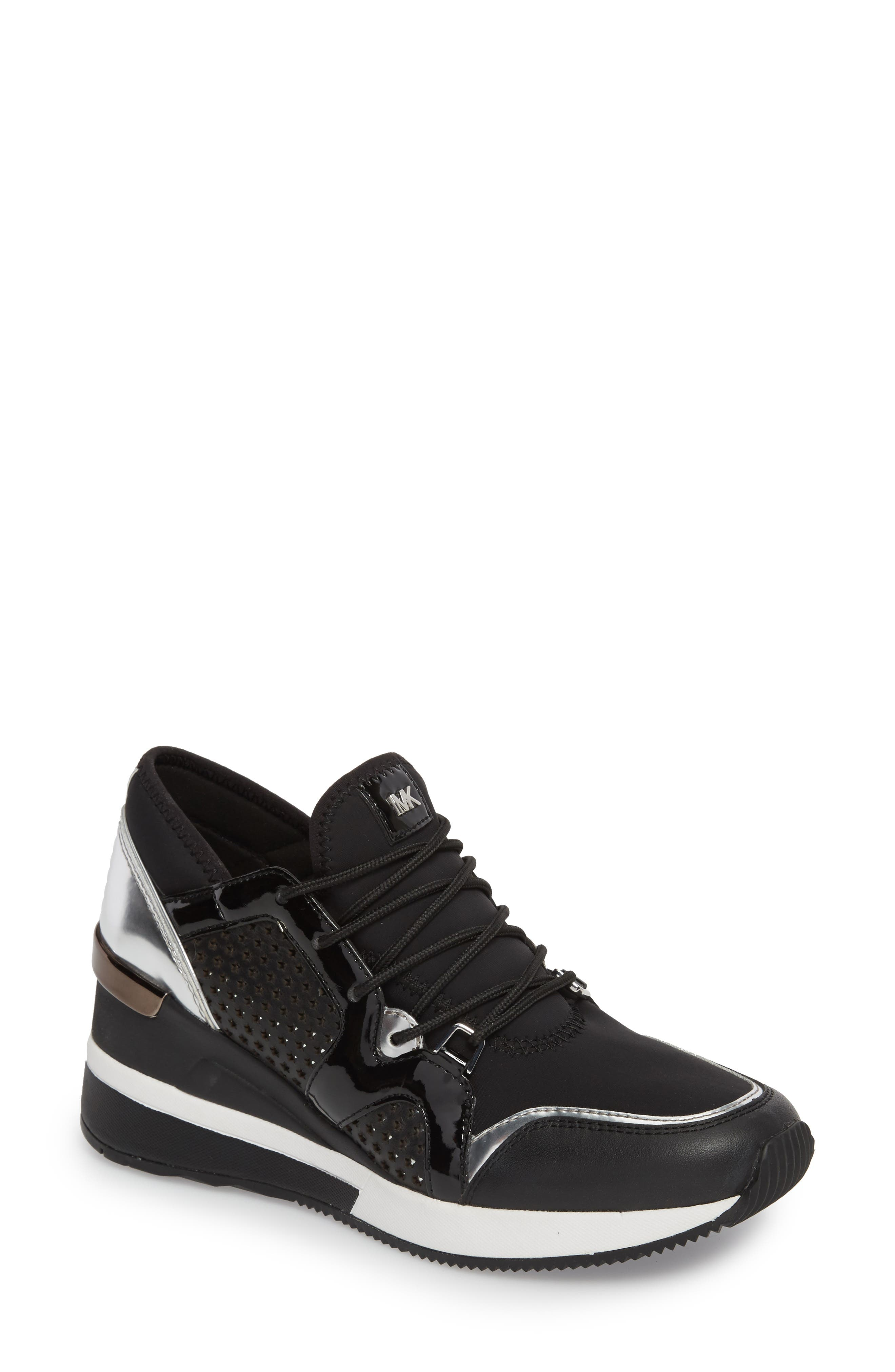 Scout Wedge Sneaker,                             Main thumbnail 1, color,                             002
