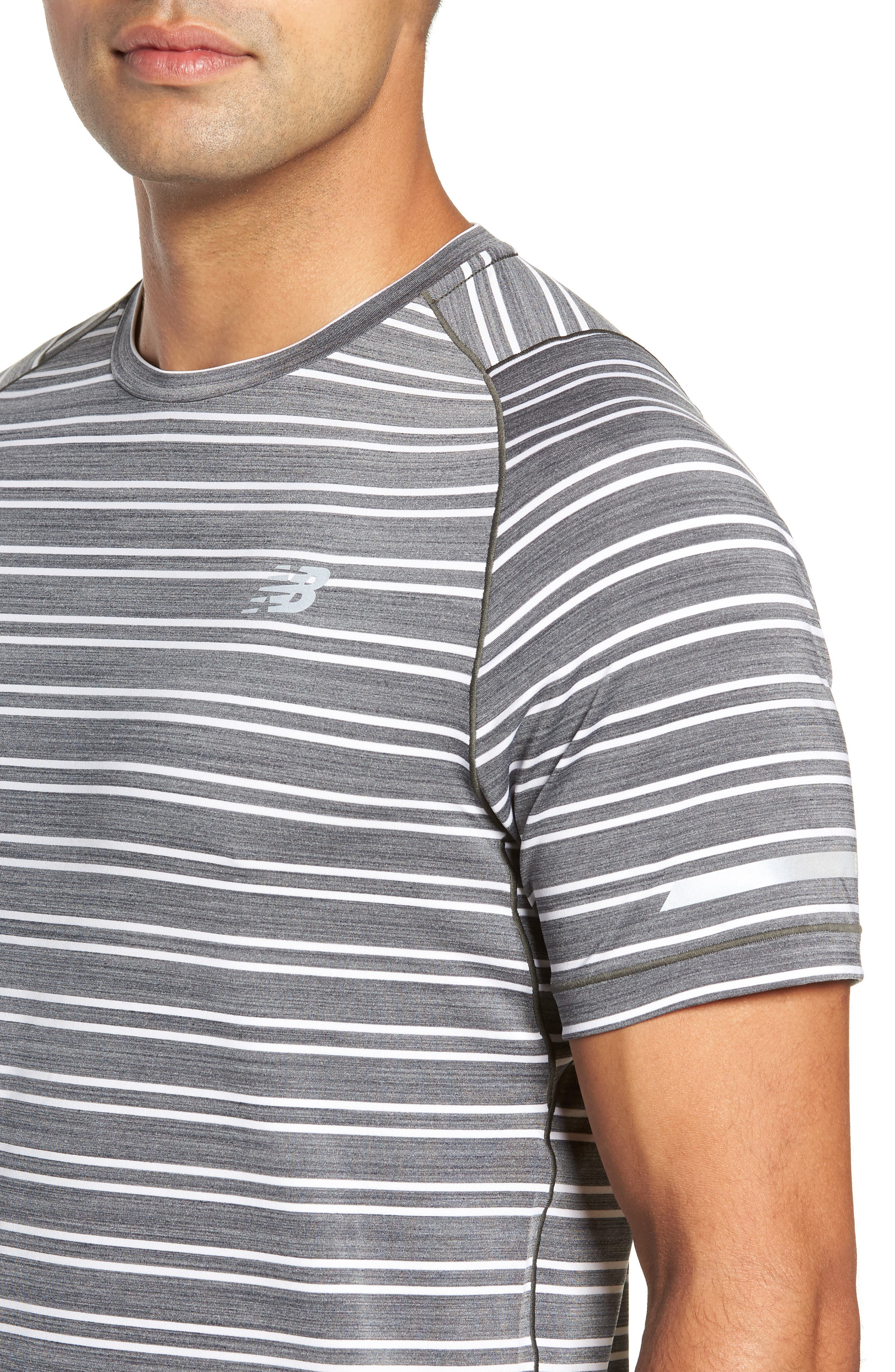 Seasonless Crewneck T-Shirt,                             Alternate thumbnail 4, color,                             001