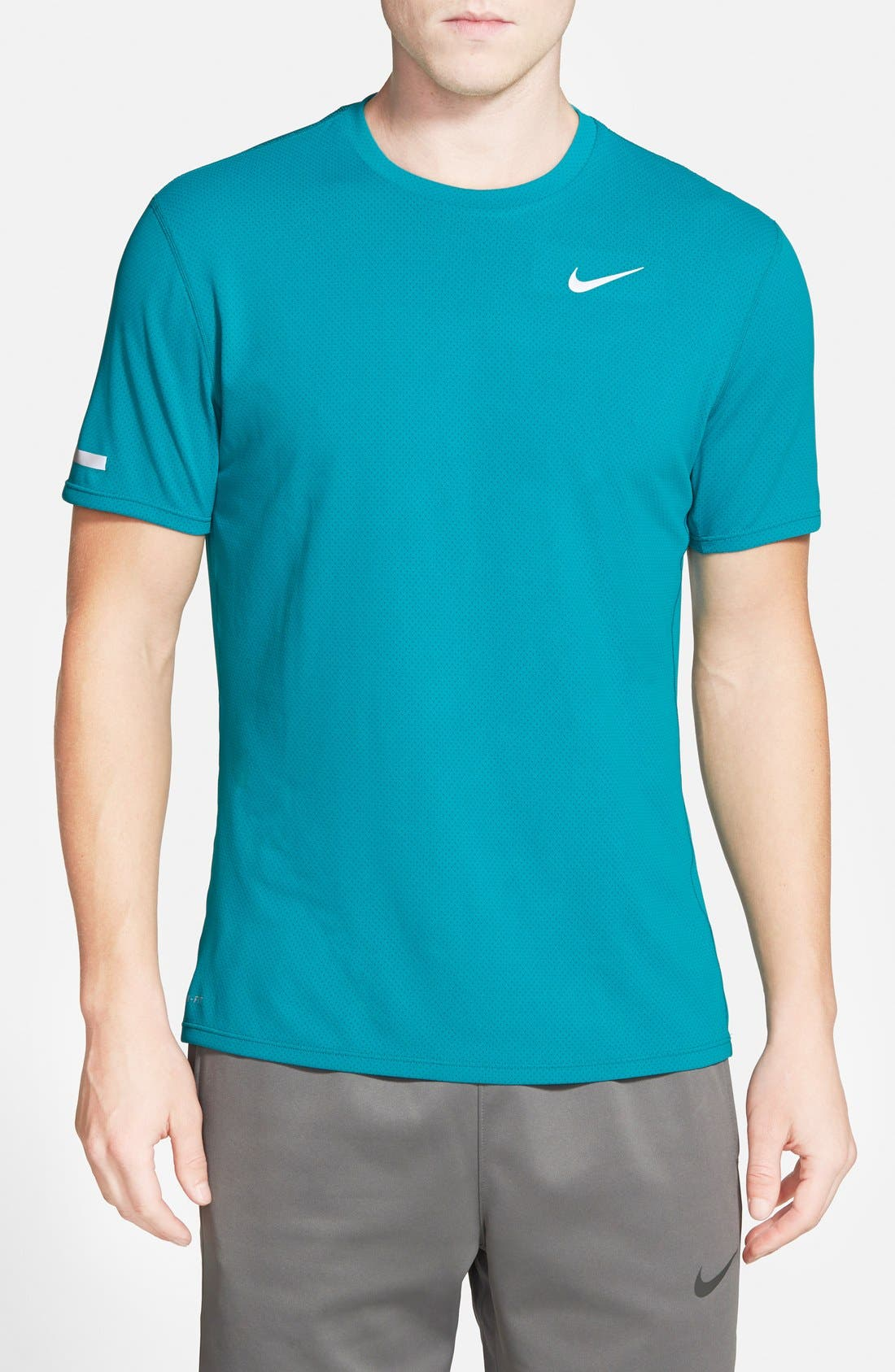 'Contour' Mesh Dri-FIT Running T-Shirt,                             Main thumbnail 3, color,