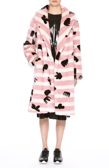 Alternate Video 8  - Shrimps Elspeth Faux Fur Coat (Nordstrom Exclusive)