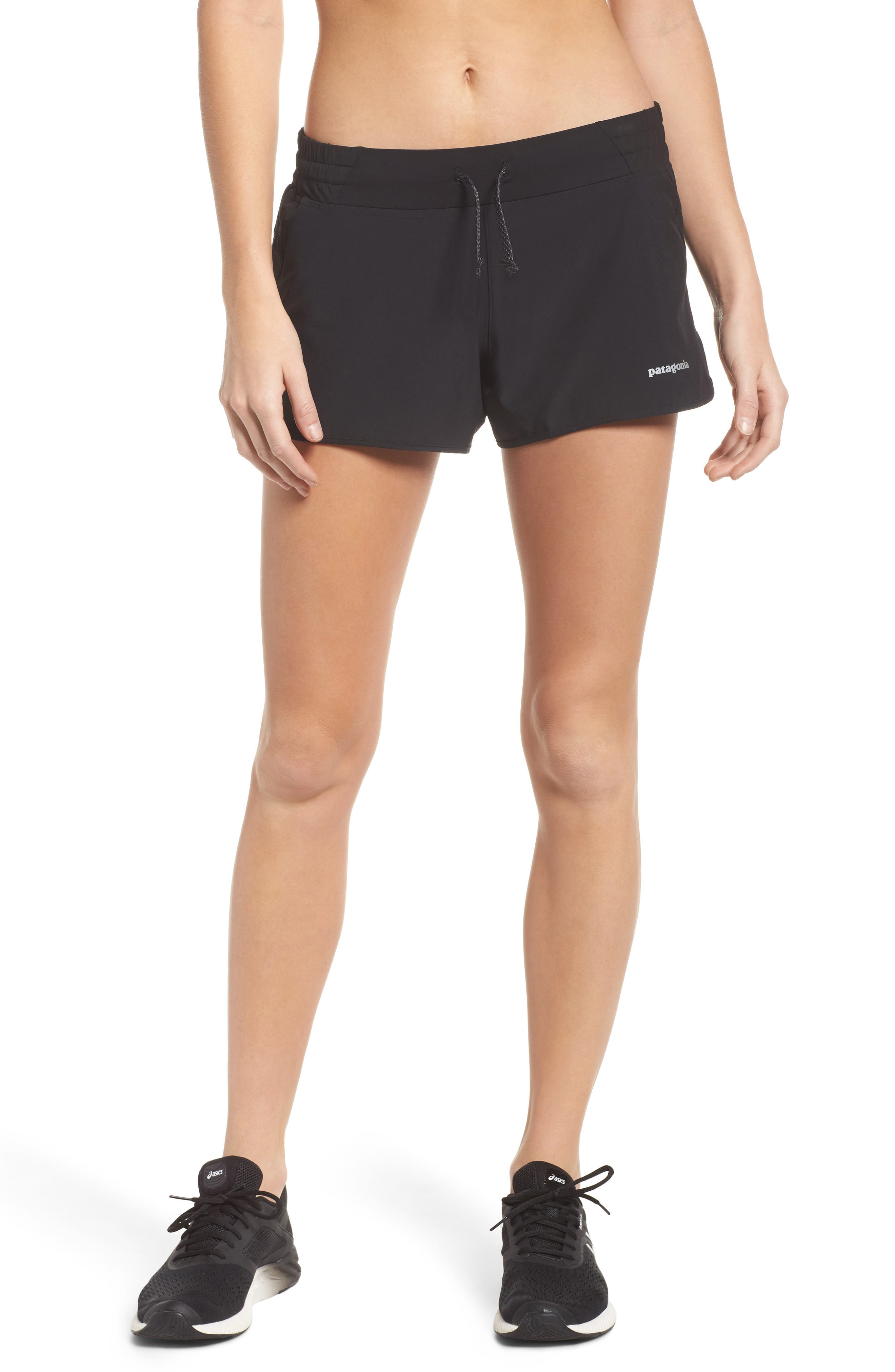 Nine Trails Shorts,                         Main,                         color, BLACK