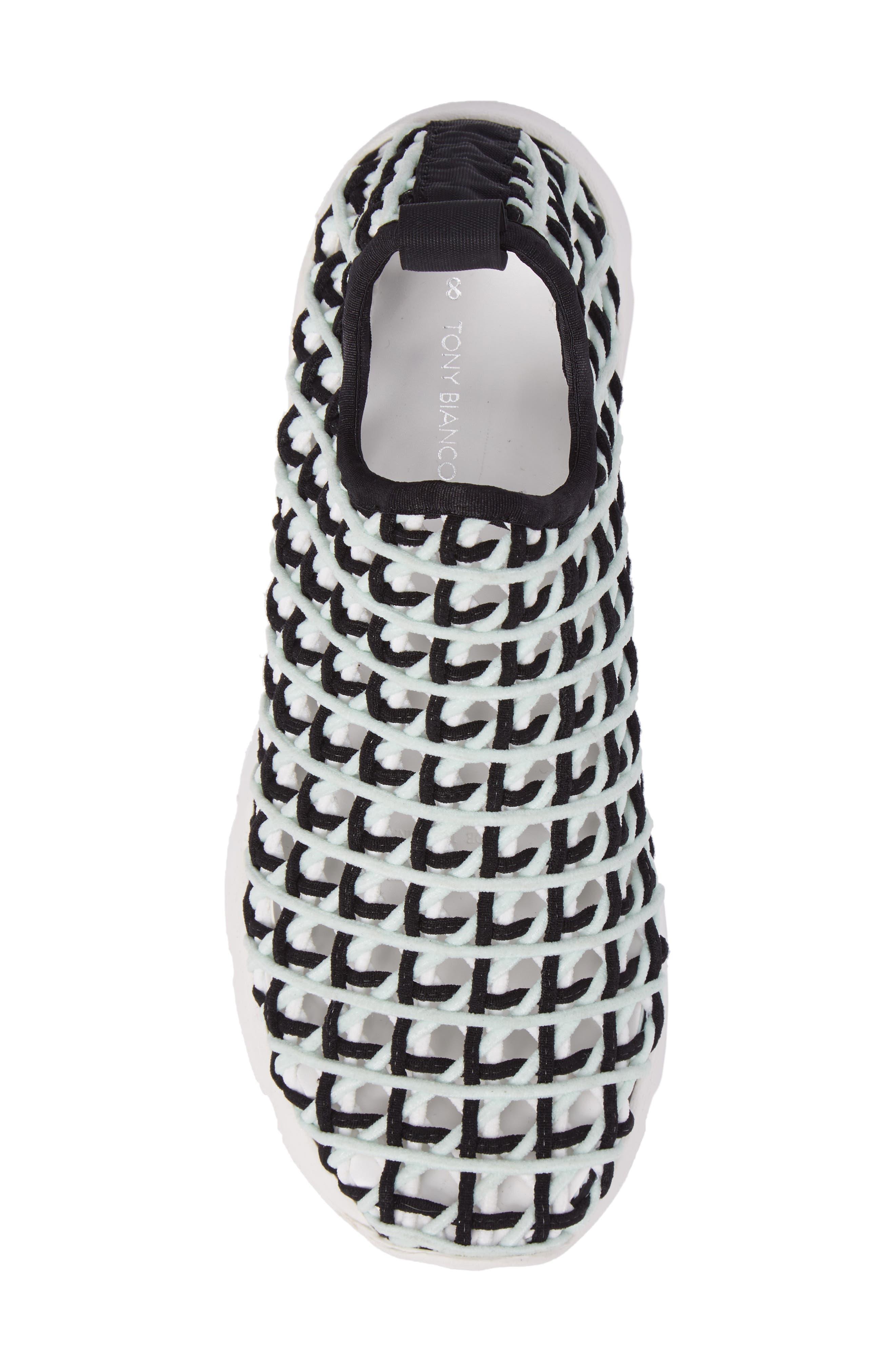 Willow Open Knit Sneaker,                             Alternate thumbnail 10, color,