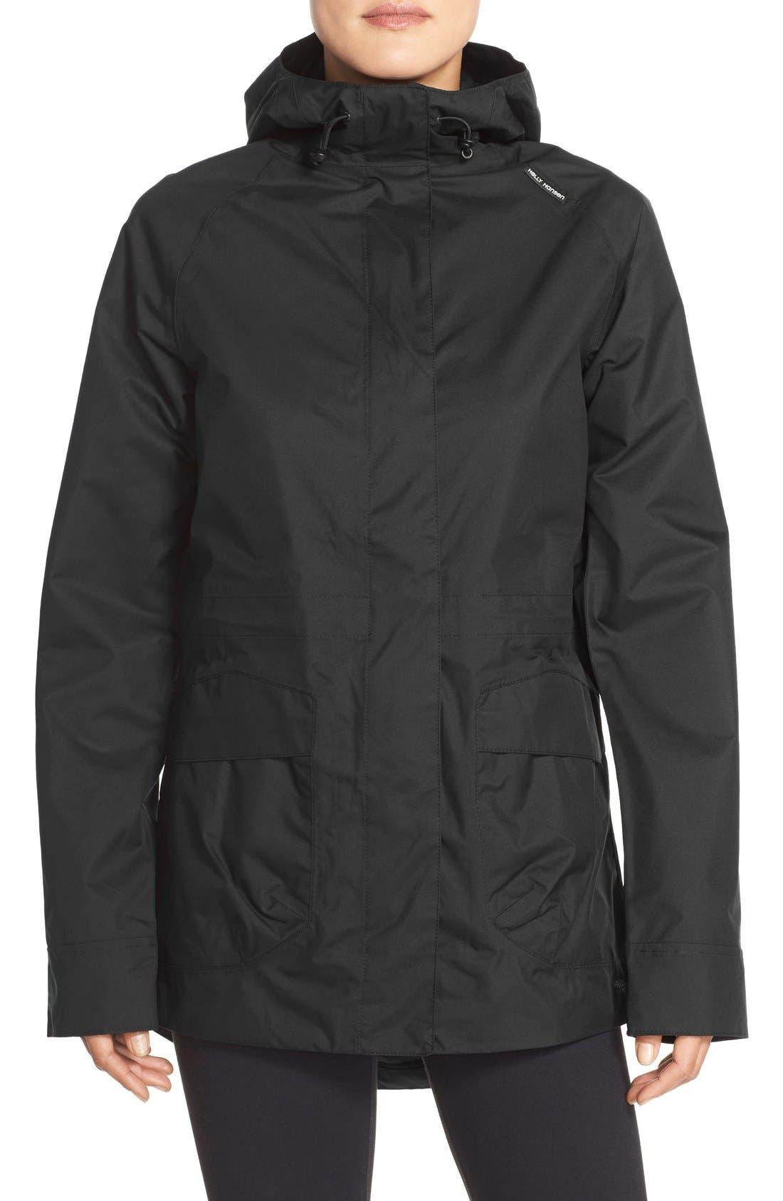 'Appleton' Waterproof Coat,                             Main thumbnail 1, color,                             001