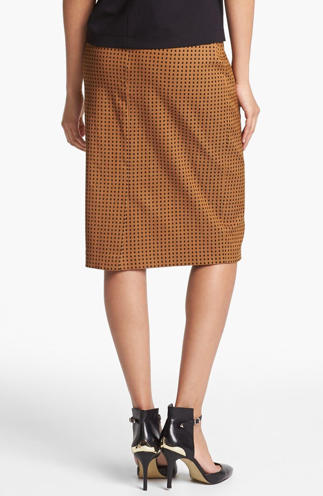 Print Pencil Skirt,                             Alternate thumbnail 16, color,