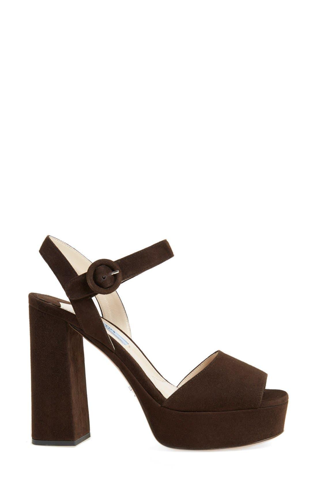 Block Heel Platform Sandal,                             Alternate thumbnail 8, color,