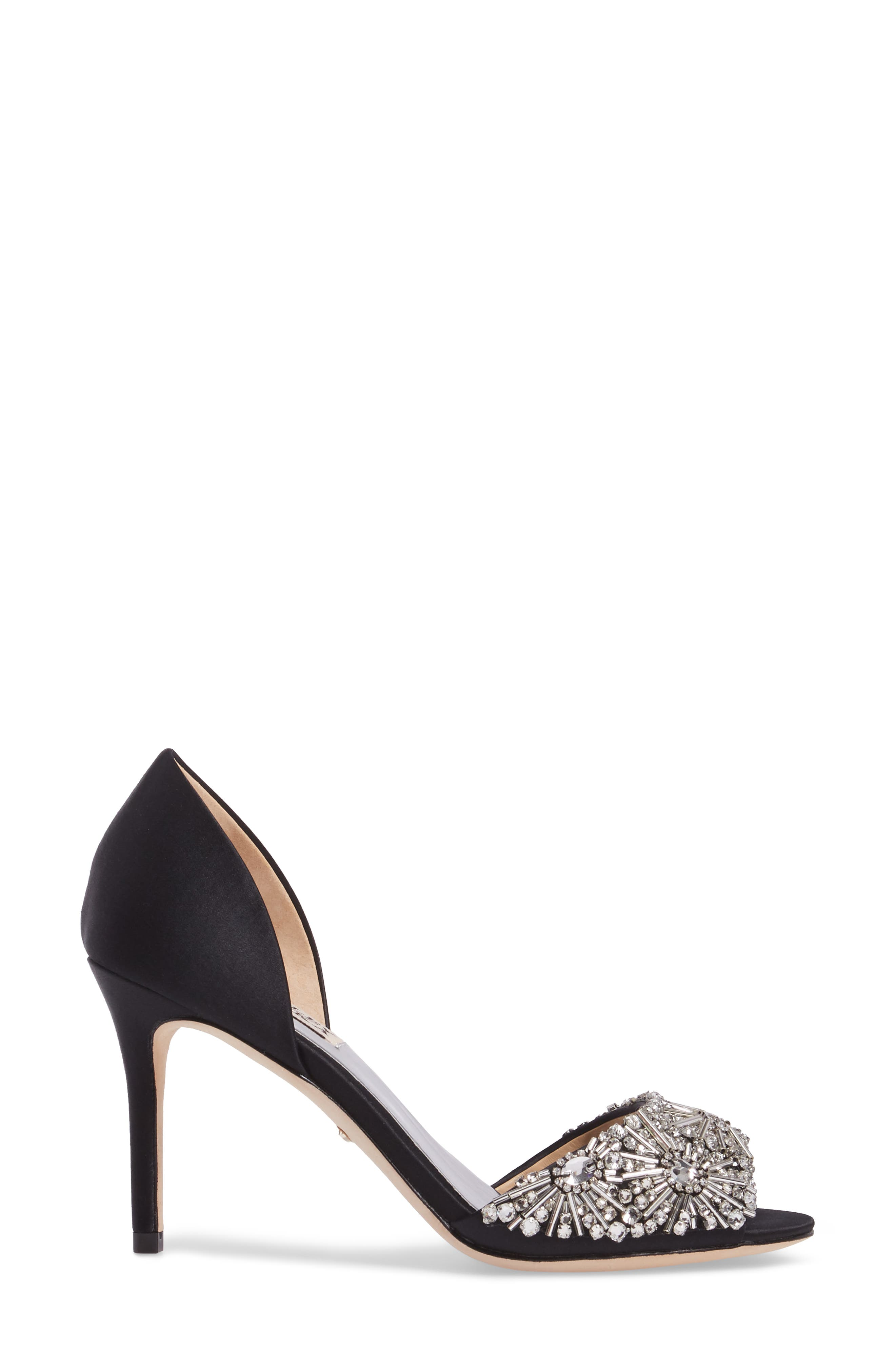 Maria Embellished d'Orsay Pump,                             Alternate thumbnail 13, color,