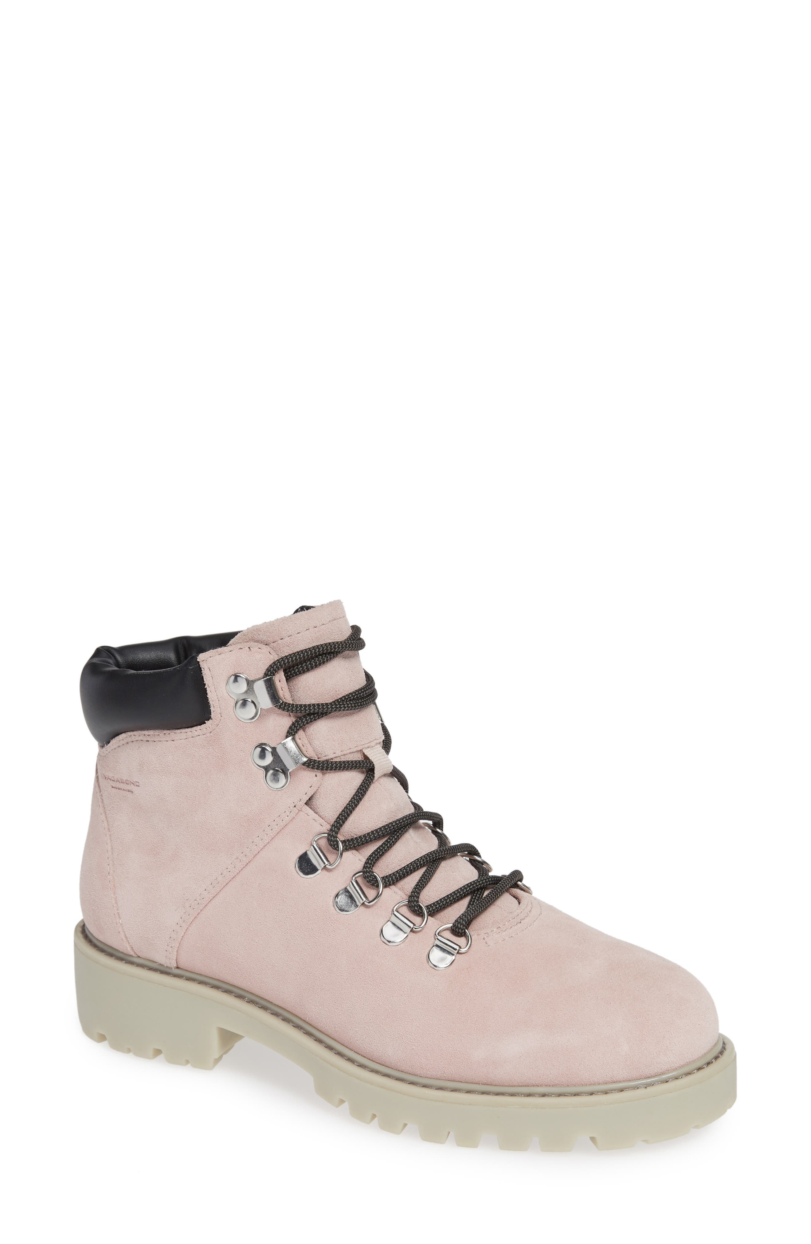 VAGABOND,                             Shoemakers Kenova Boot,                             Main thumbnail 1, color,                             MILKSHAKE SUEDE