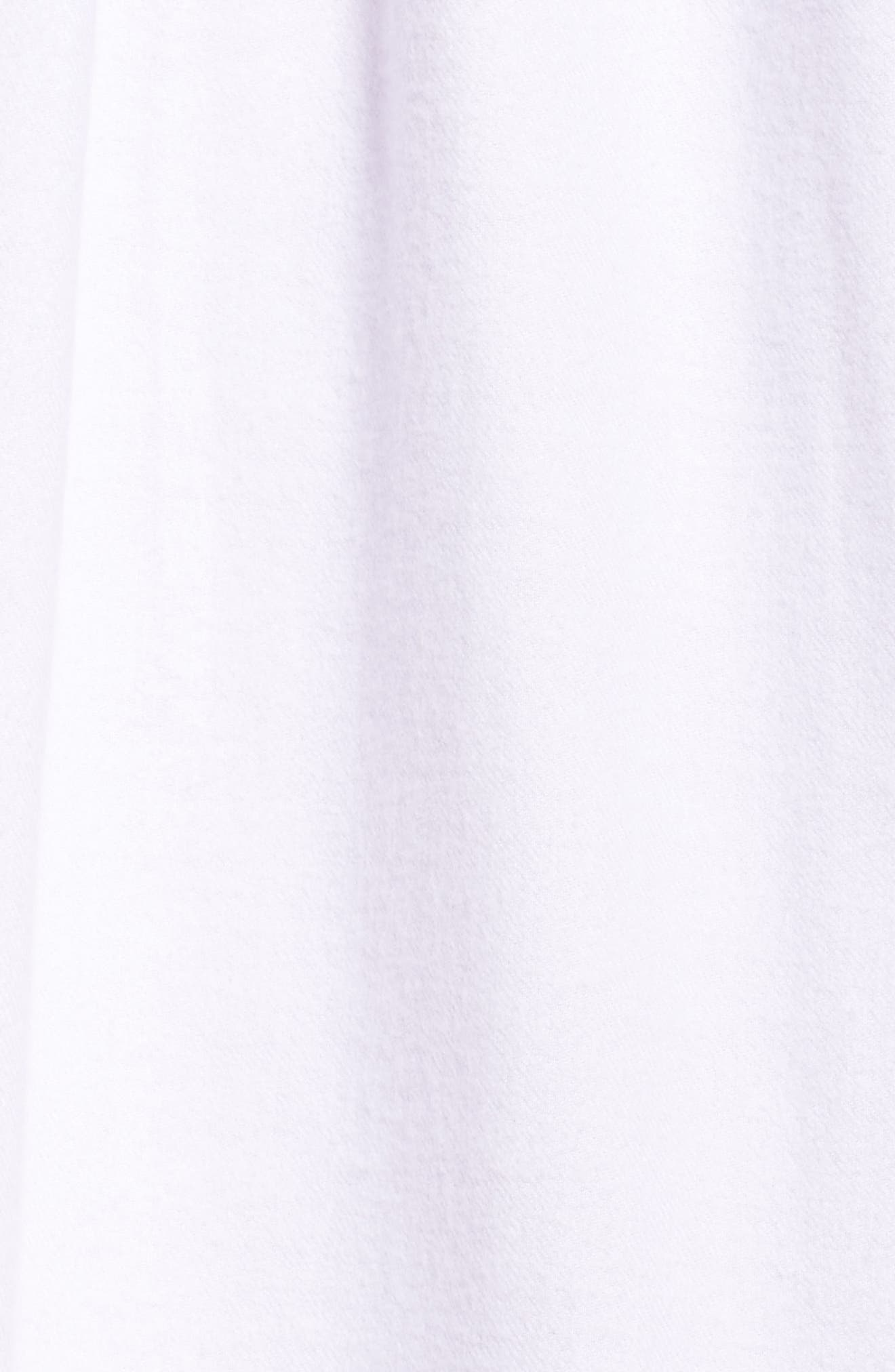 High Neck Cotton Nightgown,                             Alternate thumbnail 5, color,
